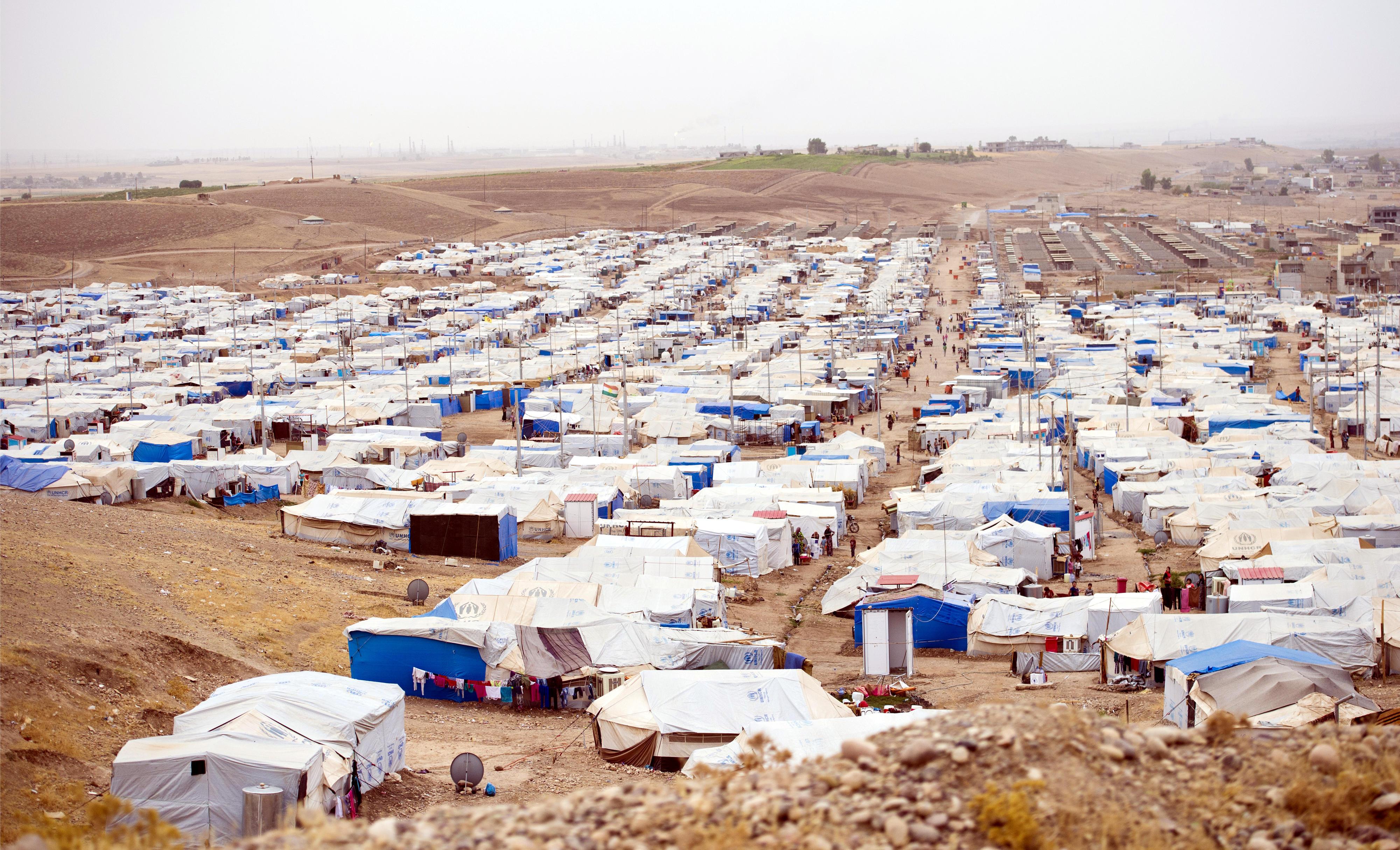 Flüchtlingslager in Nigeria