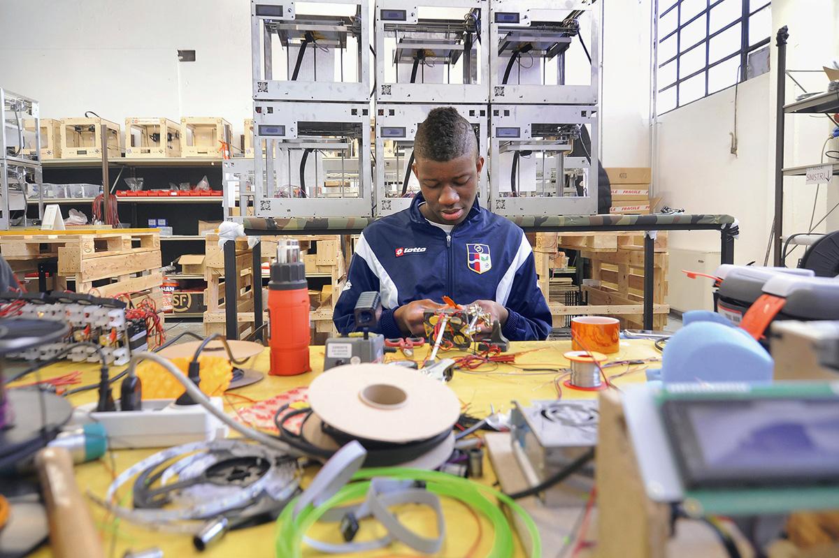 Bau eines Roboters