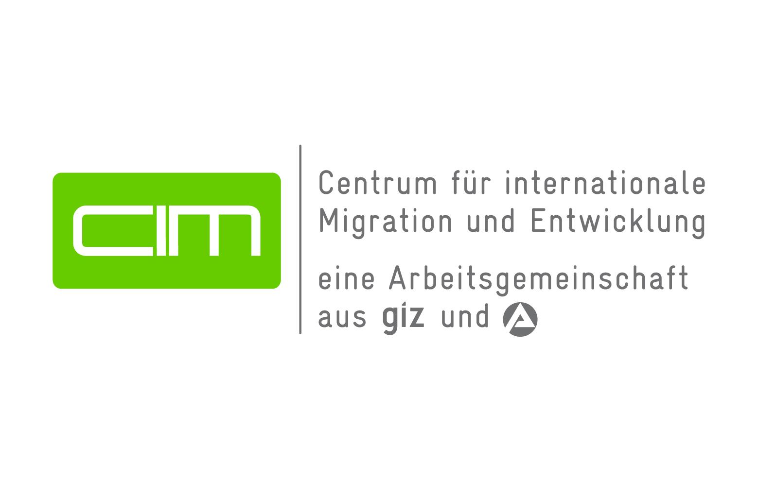 Logo: Centrum für internationale Migration und Entwicklung (CIM)