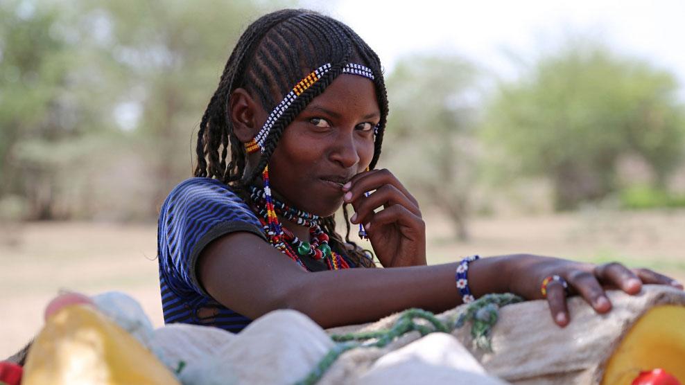 Mädchen aus Äthiopien