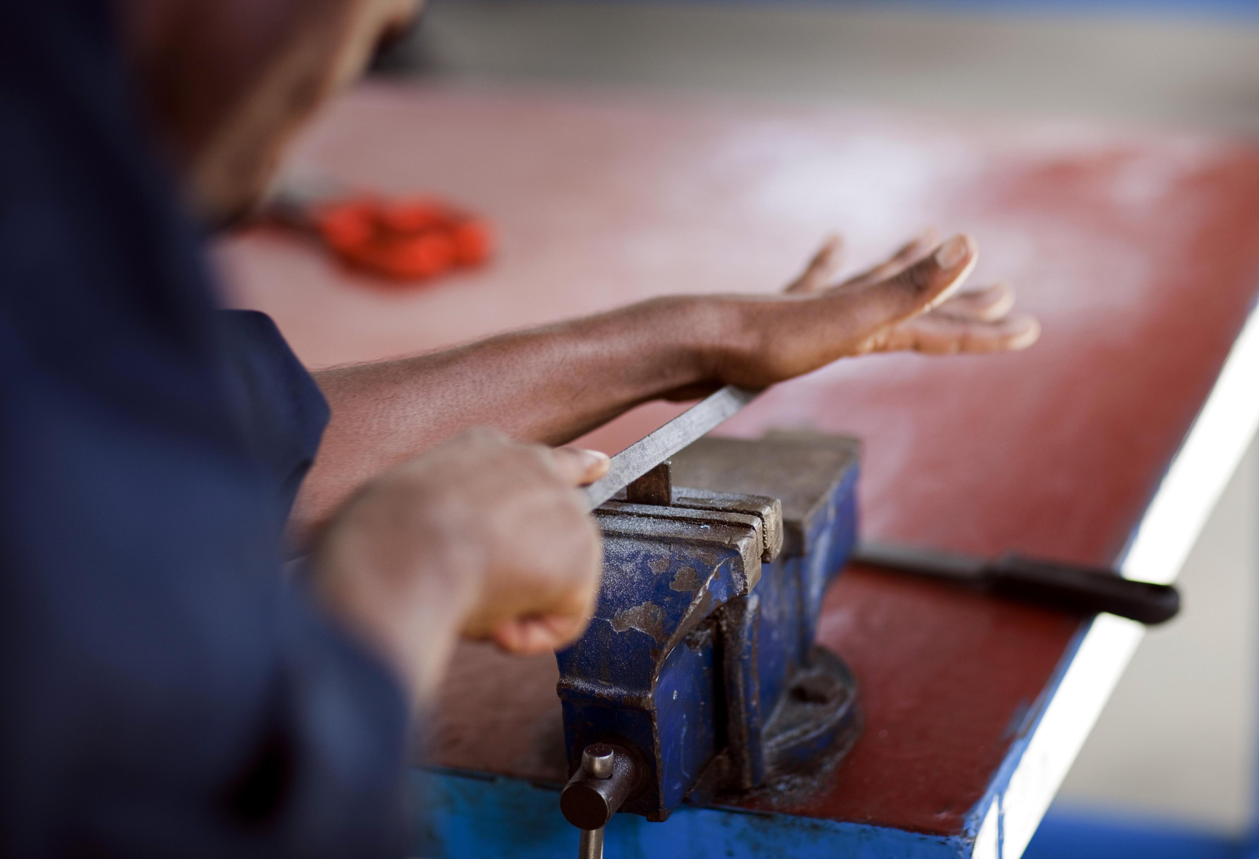 Berufsschule in Mekele (Äthiopien)