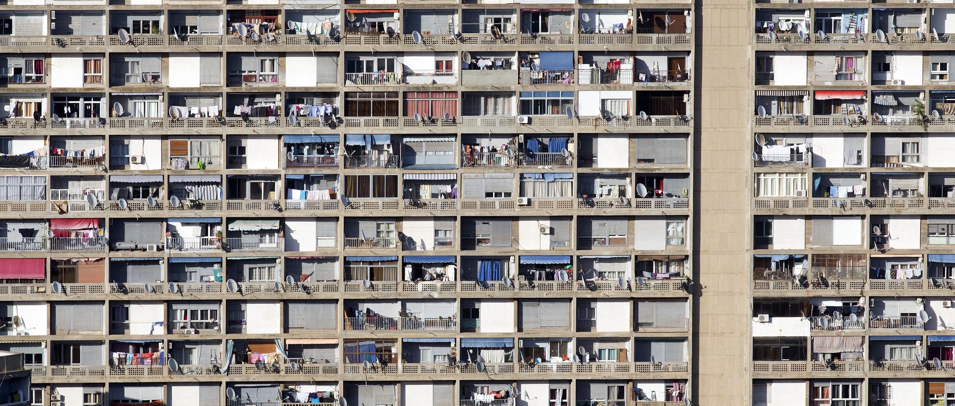 Wohnhaus in Algier, Algerien