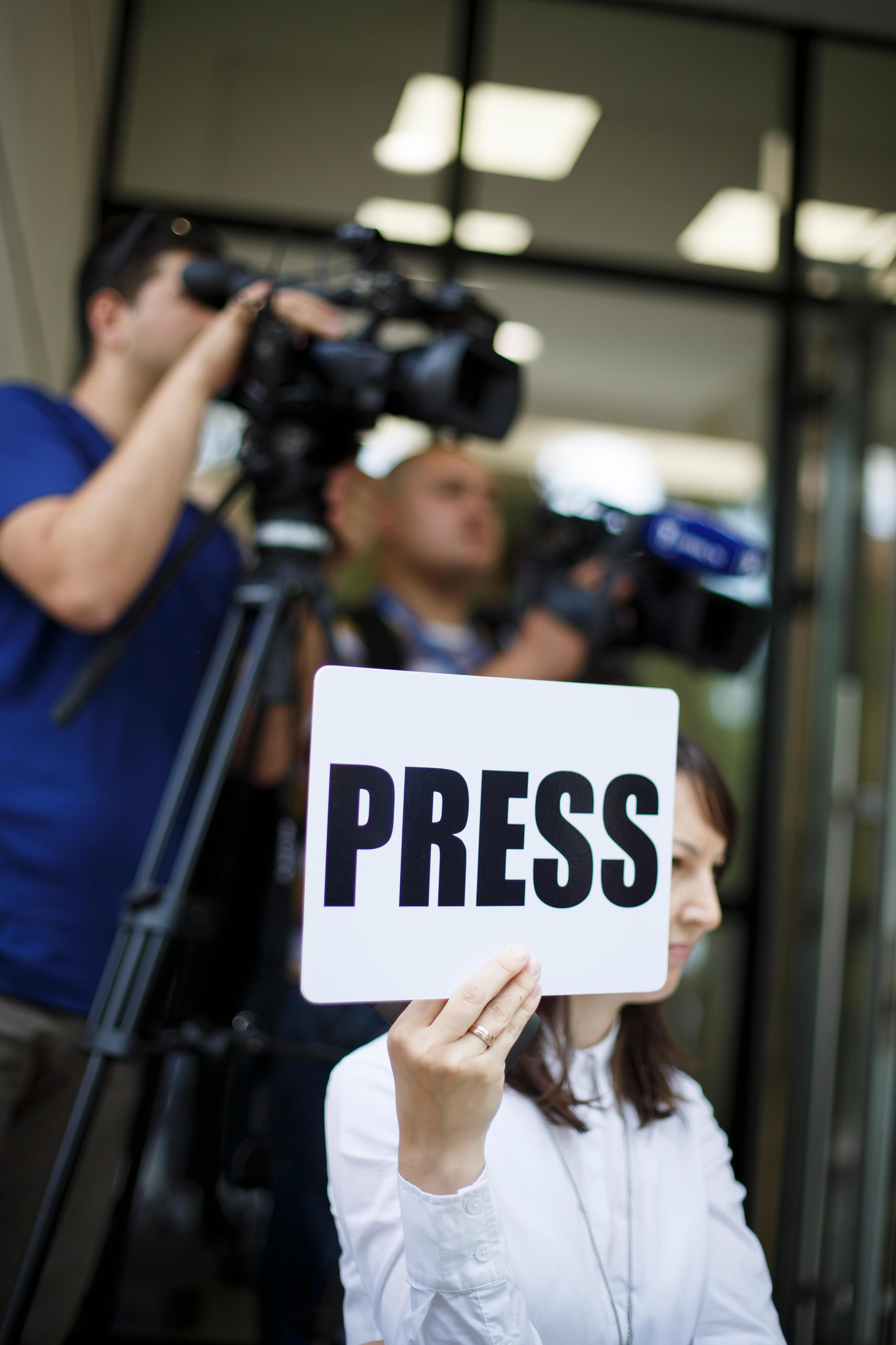 Journalisten in der Republik Moldau