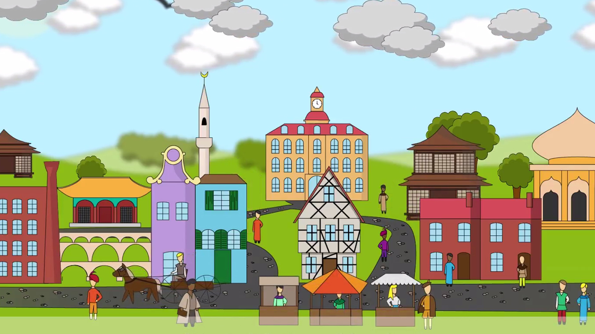 """Standbild aus dem BMZ-Video """"Städte für eine bessere Welt"""""""
