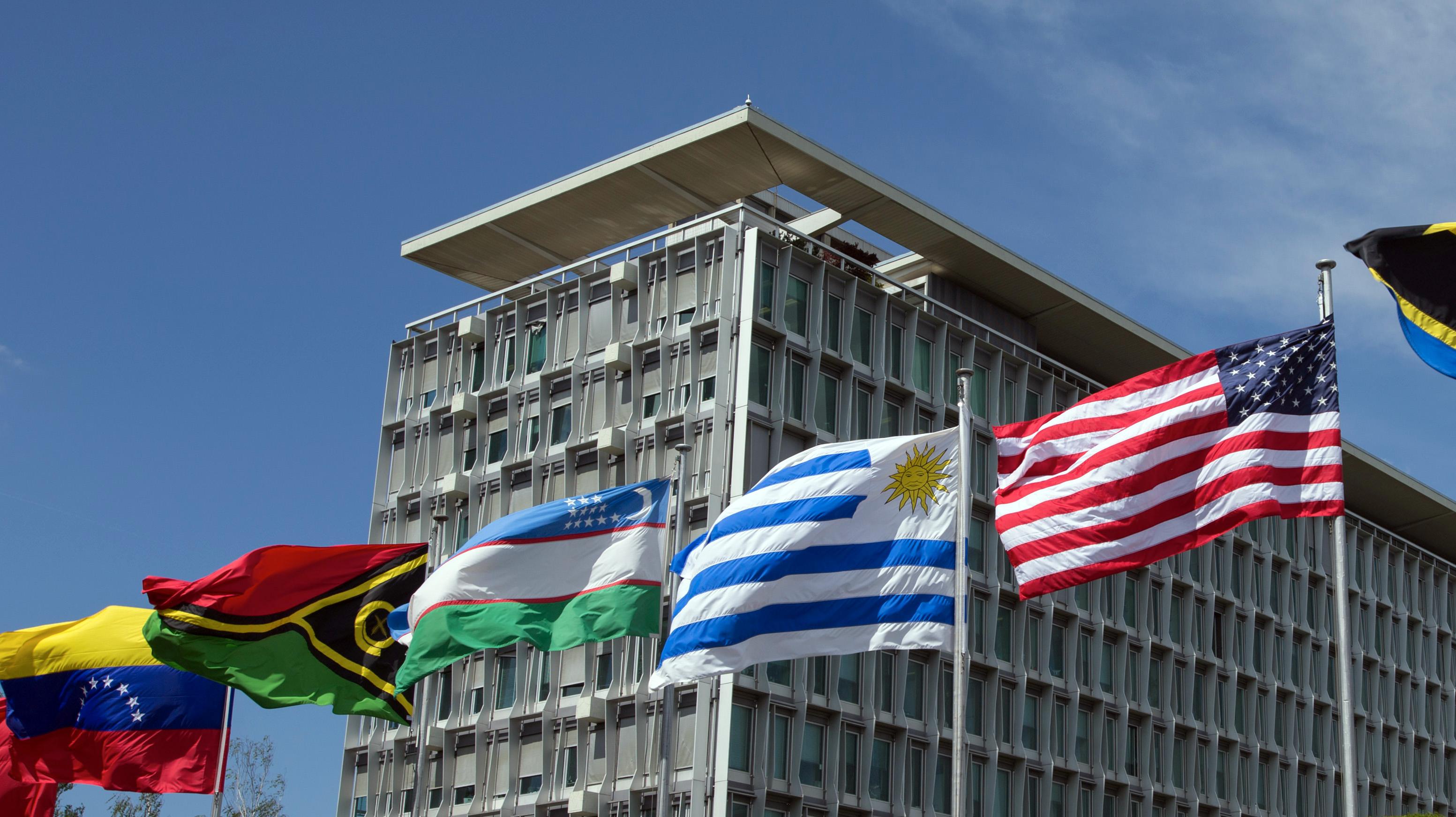 Sitz der Weltgesundheitsorganisation WHO in Genf