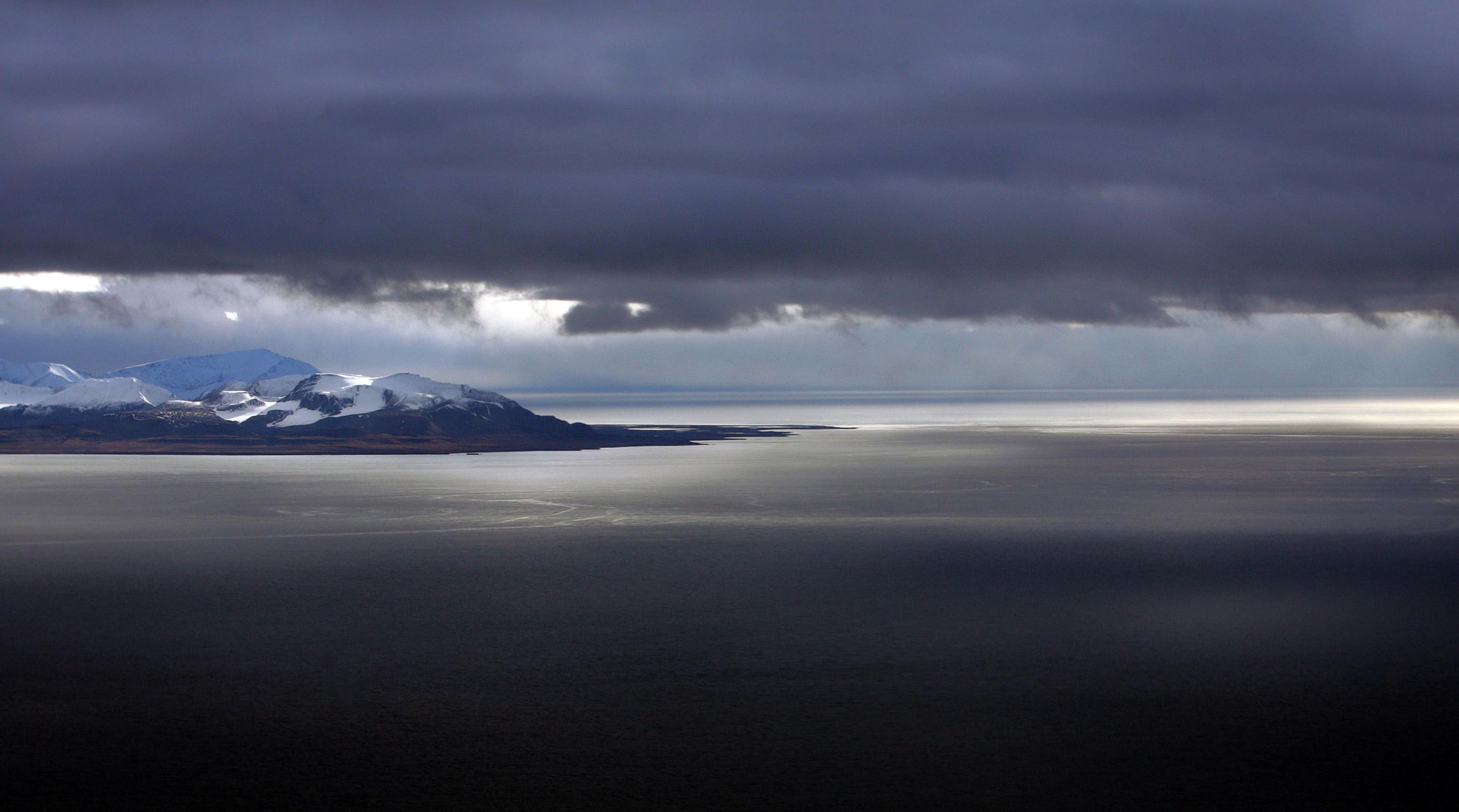 Nordpolarmeer bei Spitzbergen
