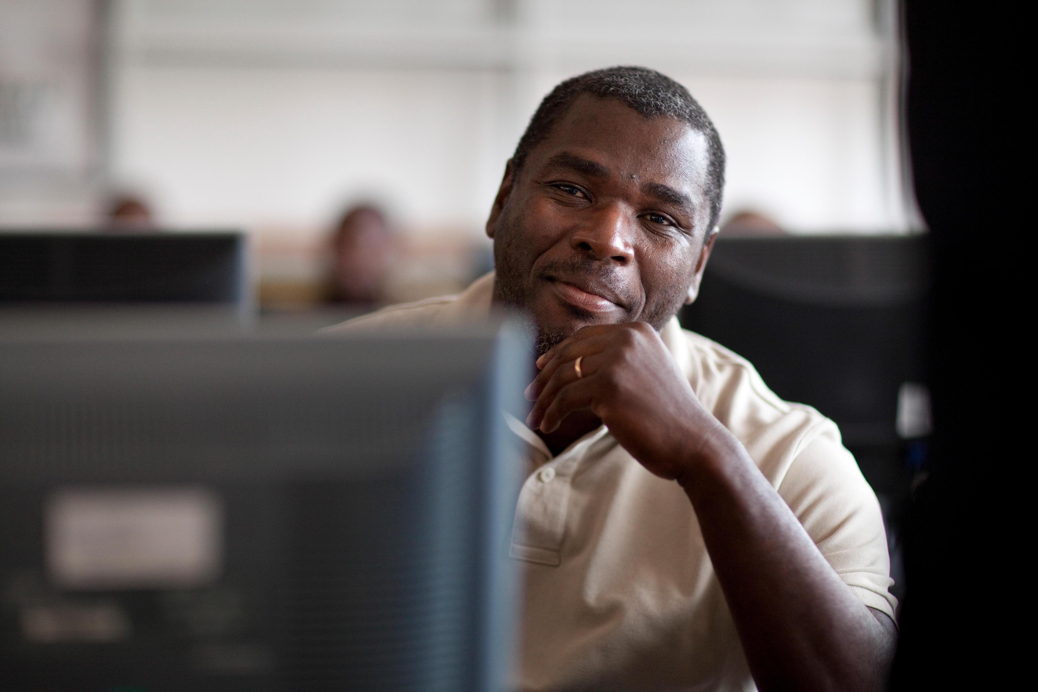 Verwaltungsangestellter in Mosambik
