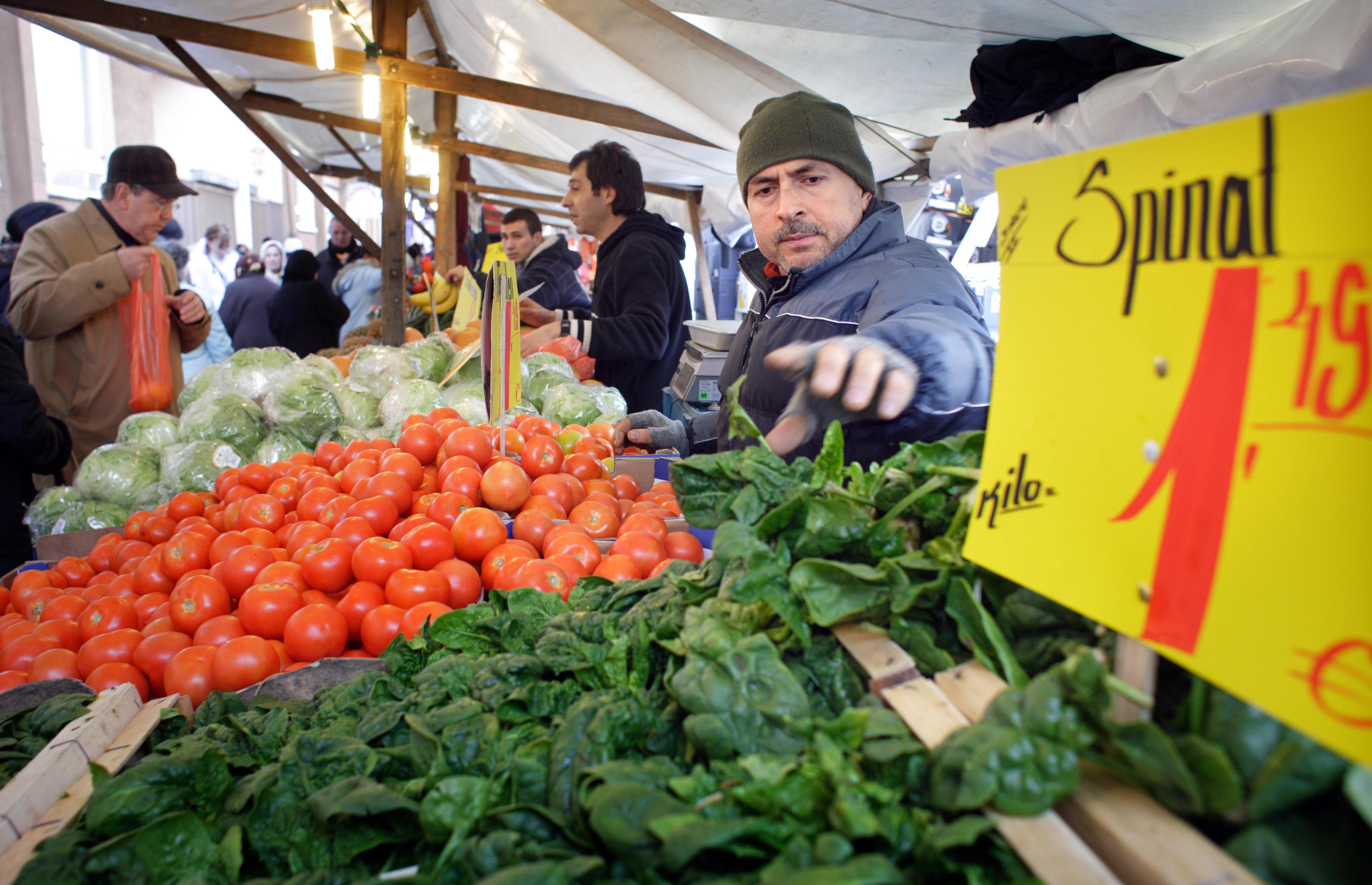 Wochenmarkt in Berlin-Neukölln
