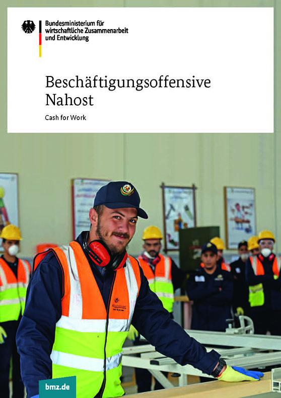Beschäftigungsoffensive Nahost - Cash for Work