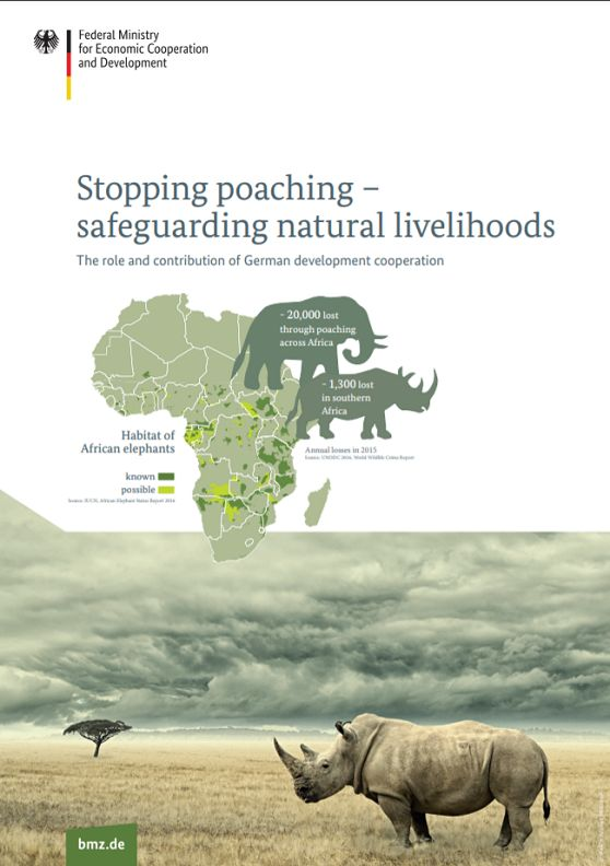Stopping poaching – safeguarding natural livelihoods