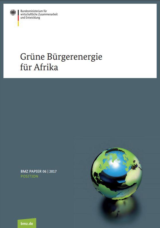 Grüne Bürgerenergie für Afrika
