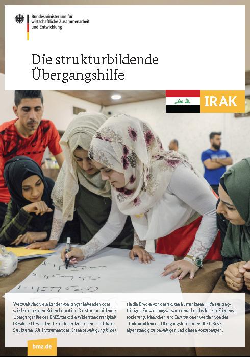 Titelblatt: Die Übergangshilfe des BMZ im Irak
