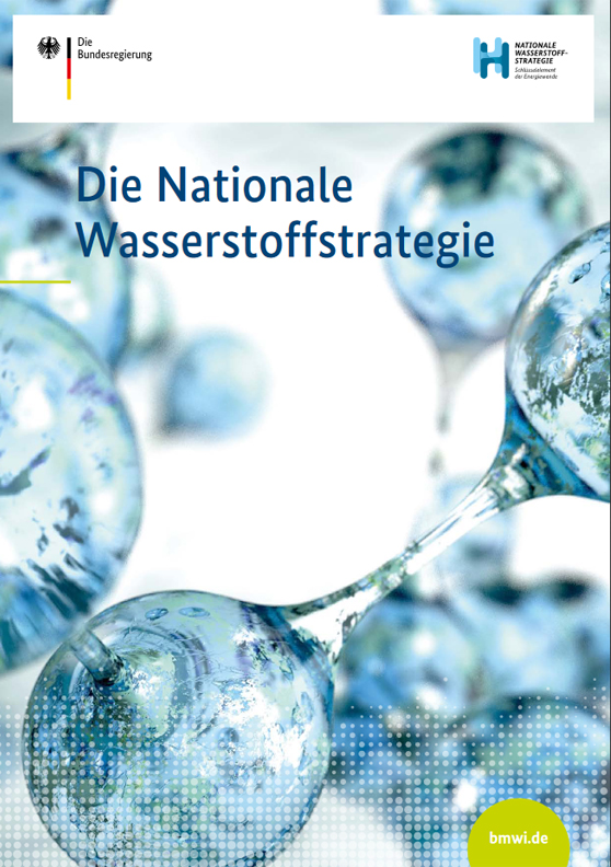 Titelblatt: Die Nationale Wasserstoffstrategie
