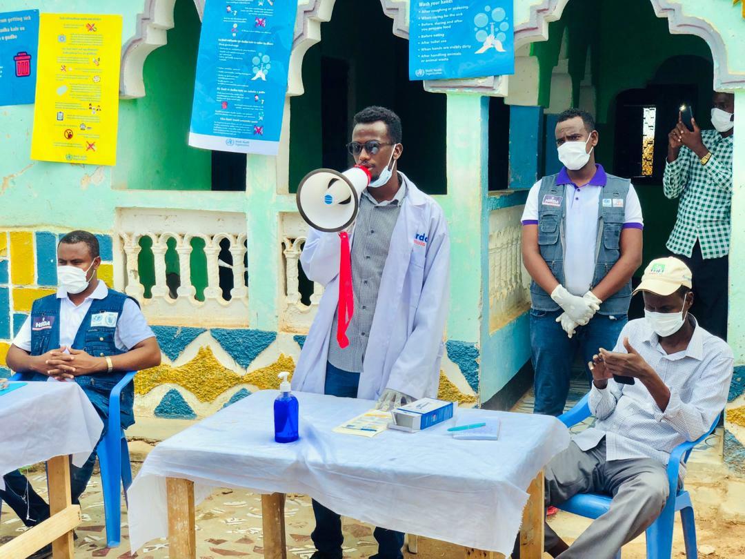 In Somalia wird die Bevölkerung mit Aufklärungskampagnen über das Coronavirus informiert.