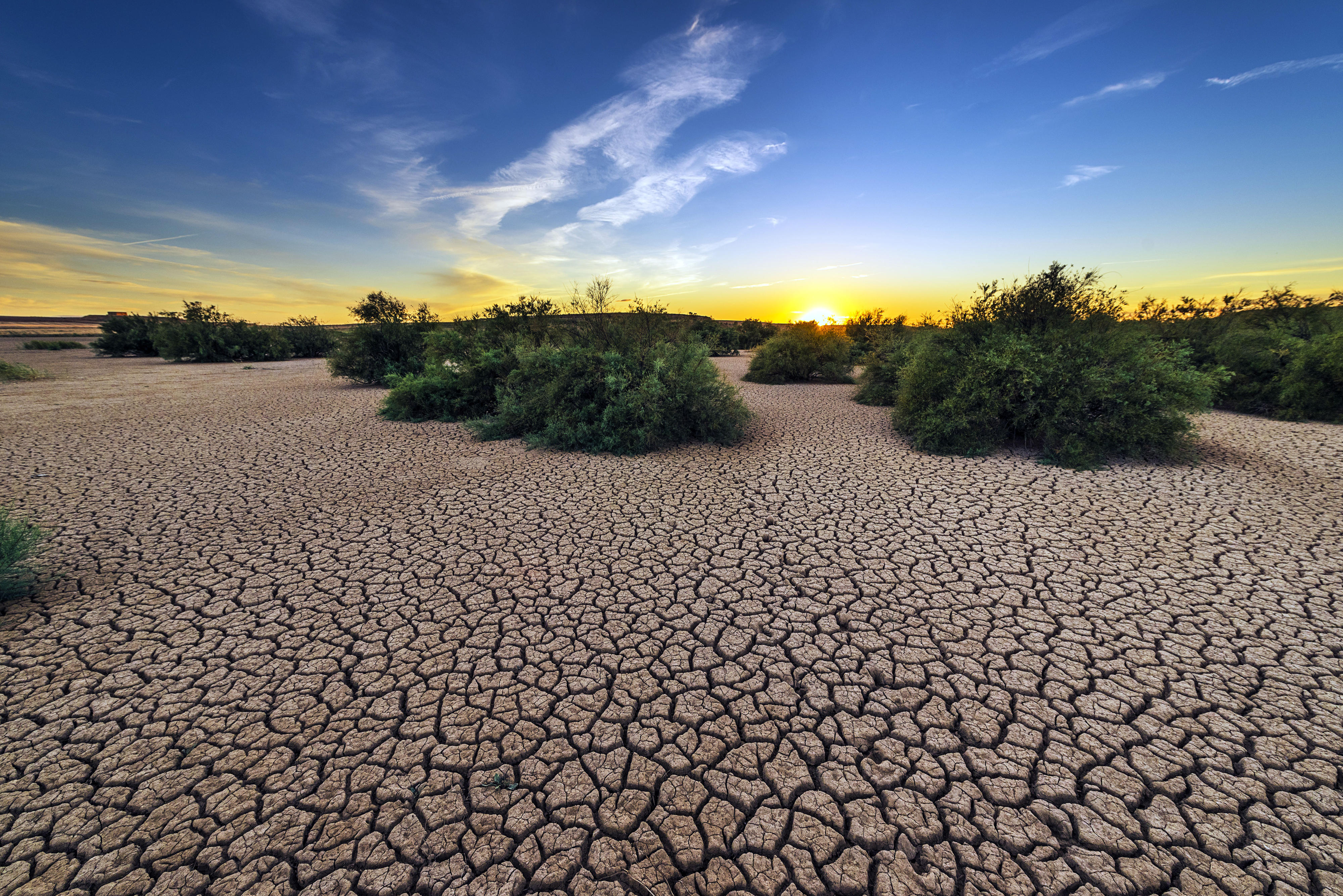 Water scarcity and drought are among the serious consequences of climate change.
