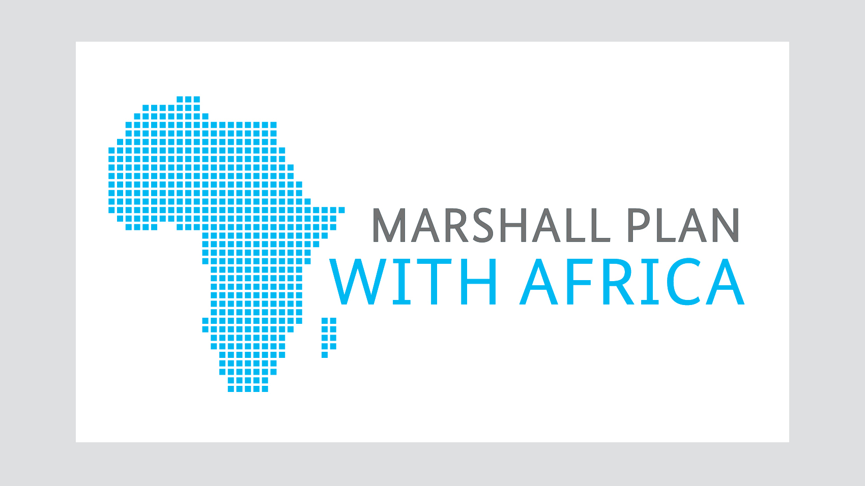 Logo: Marshall Plan with Africa