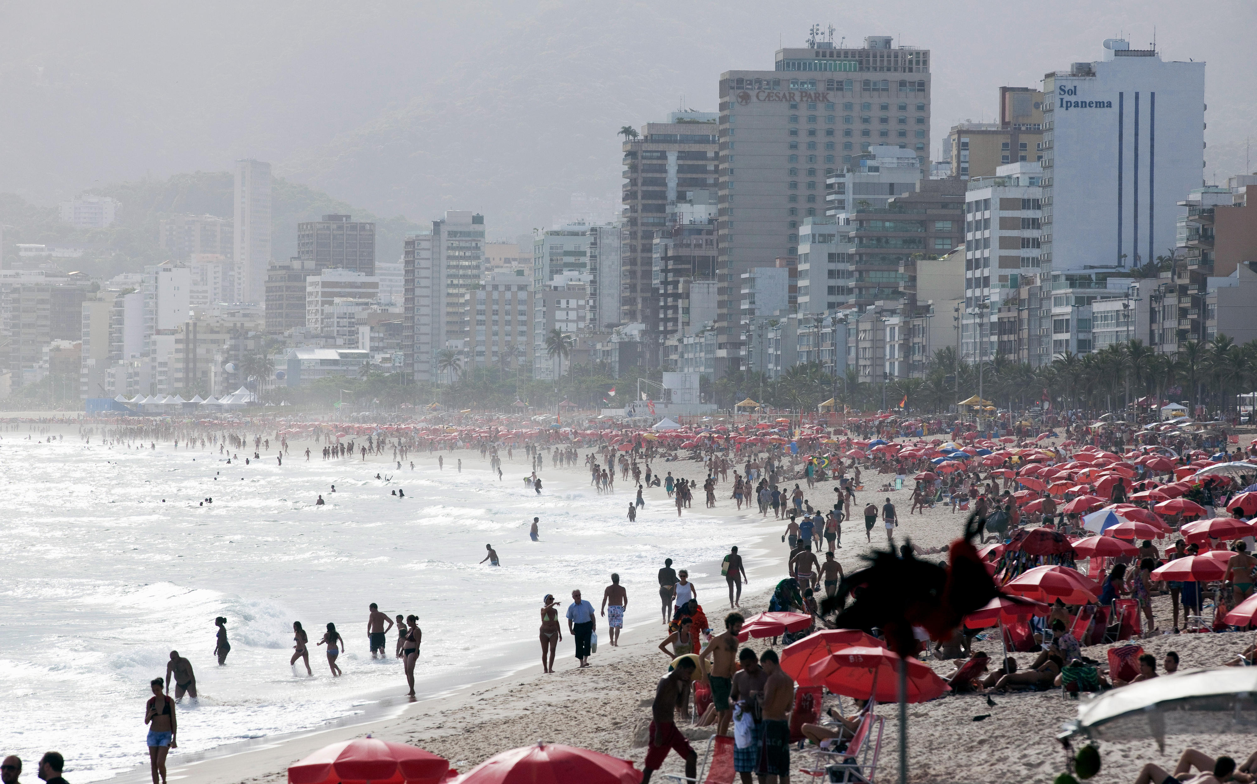 Ipanema-Strand in Rio de Janeiro