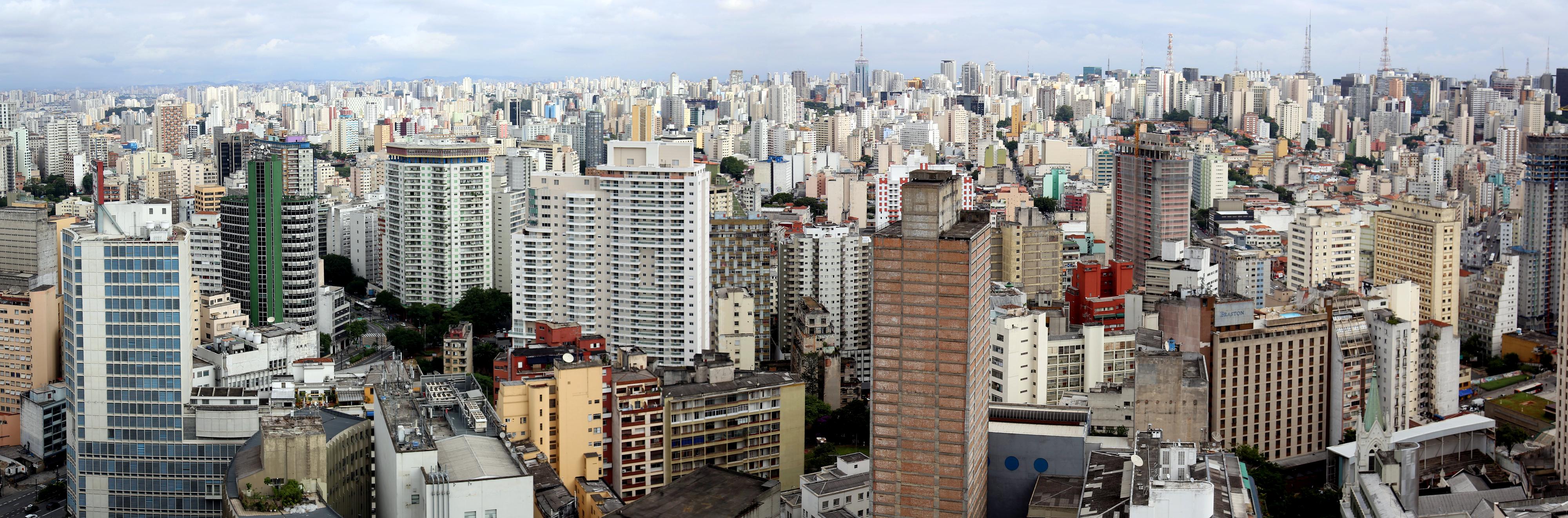 Stadtansicht von Sao Paulo