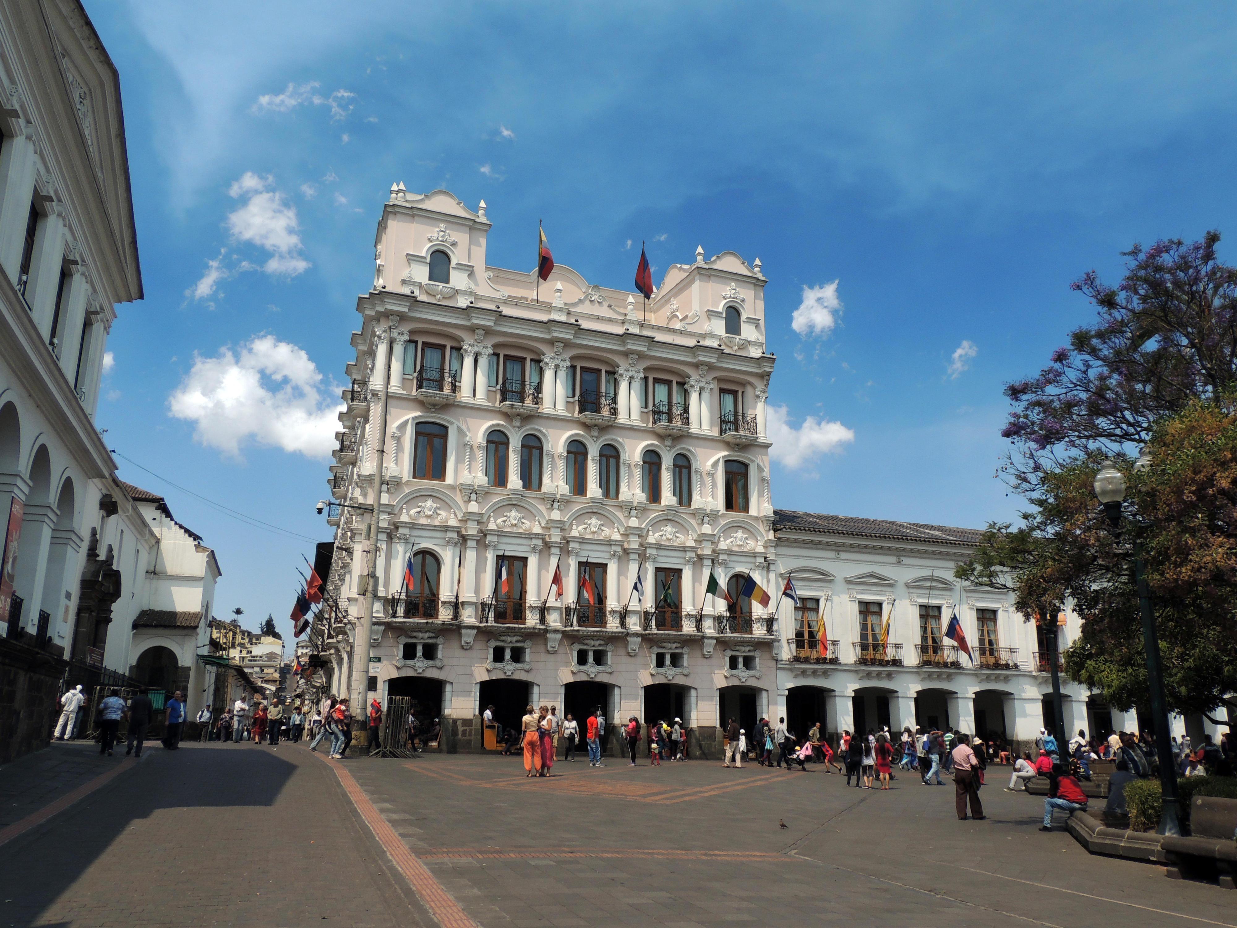 Platz der Unabhängigkeit in Quito, Ecuador