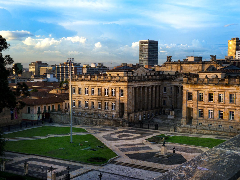 Regierungsgebäude in Kolumbiens Hauptstadt Bogotá