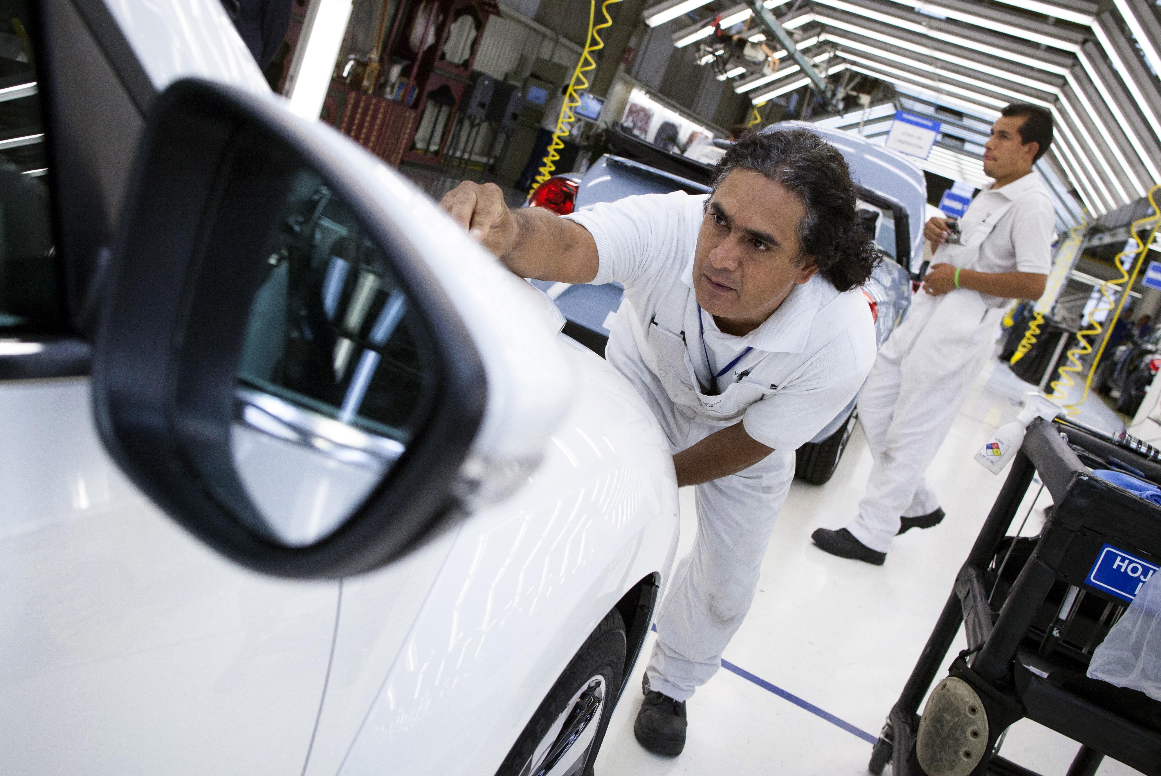 Fahrzeugindustrie in Puebla, Mexiko