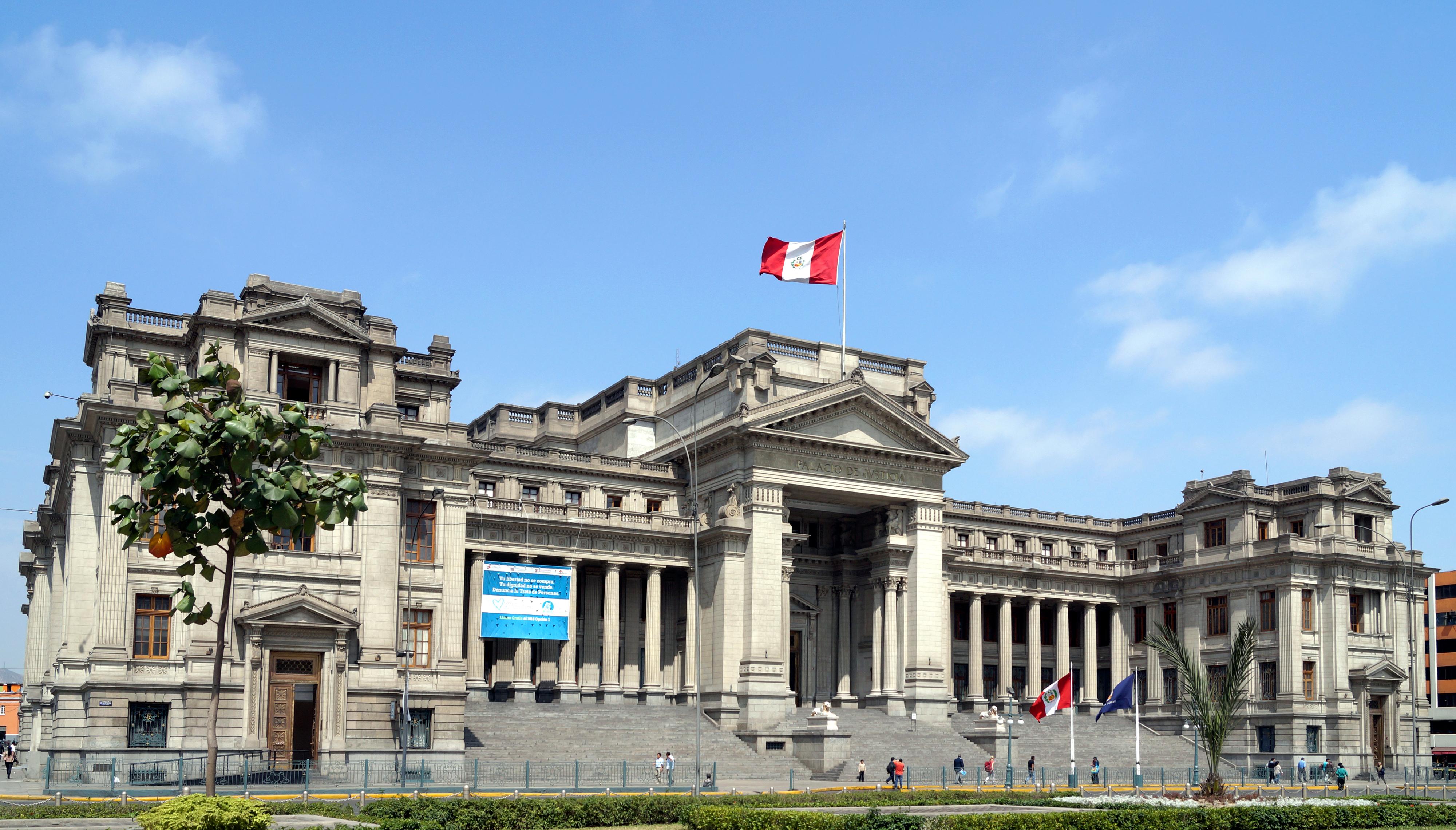 Justizpalast in Lima, Sitz des obersten Gerichtshofs in Peru