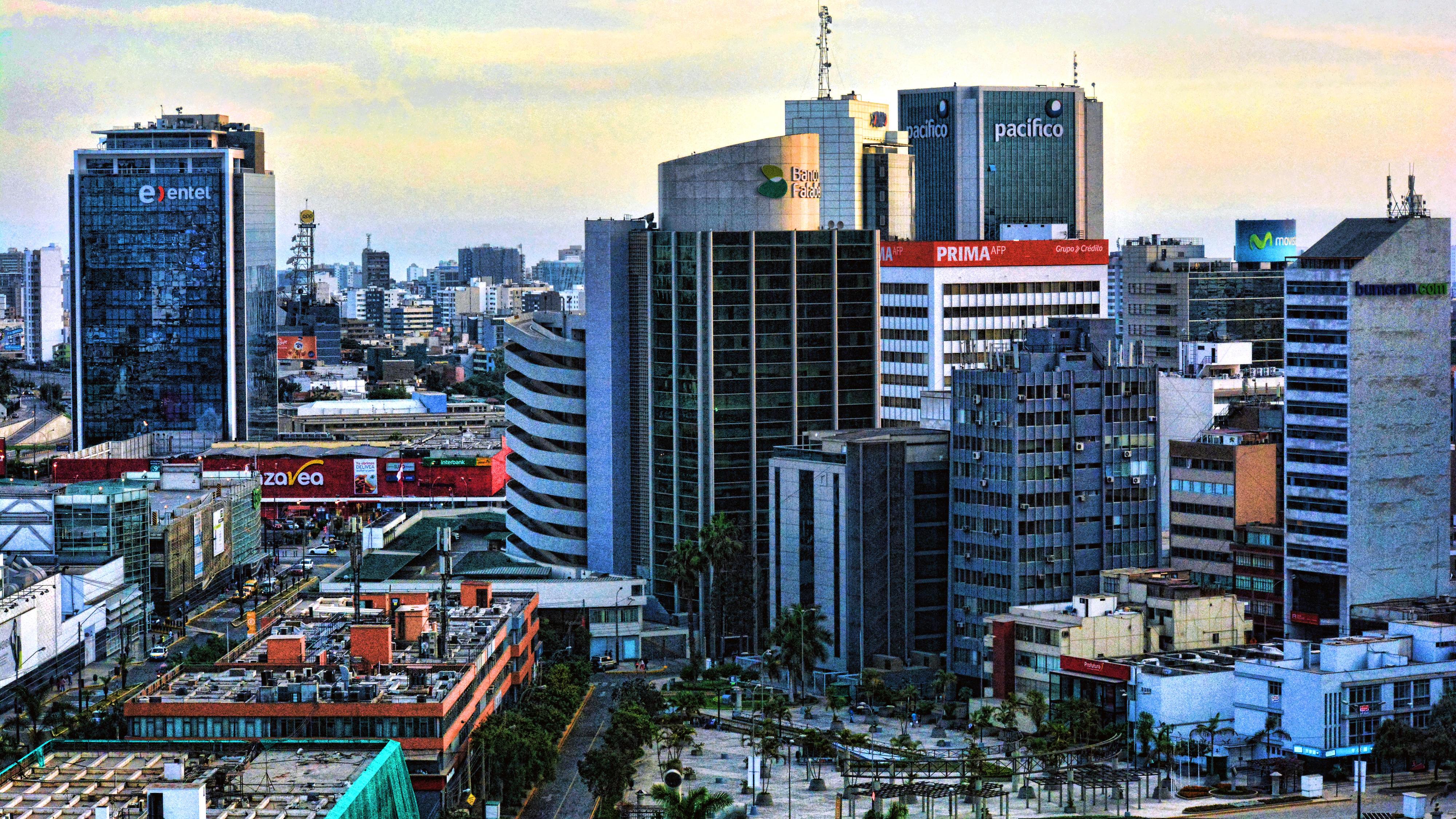 Ansicht von Lima