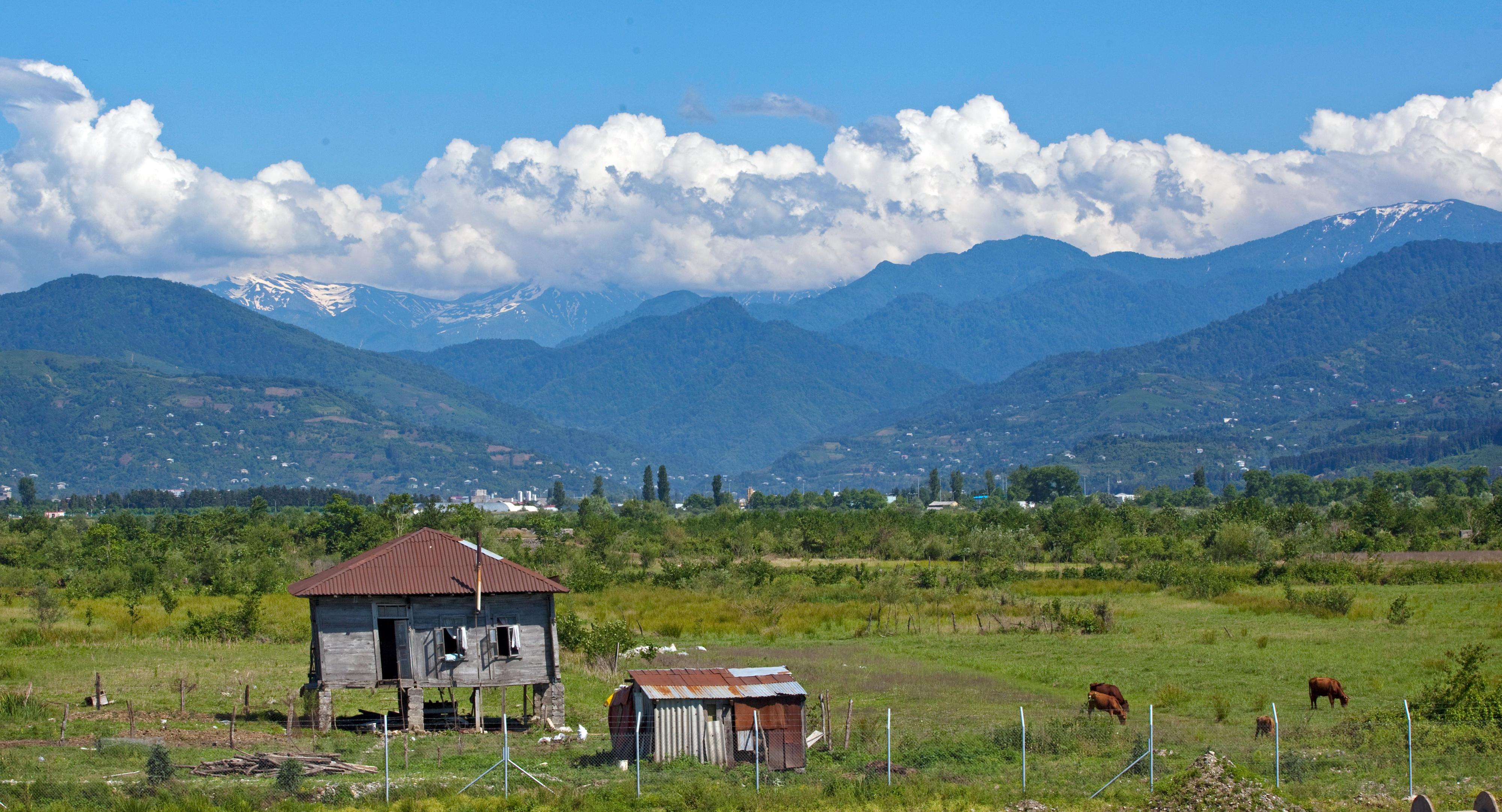 Landschaft in Georgien