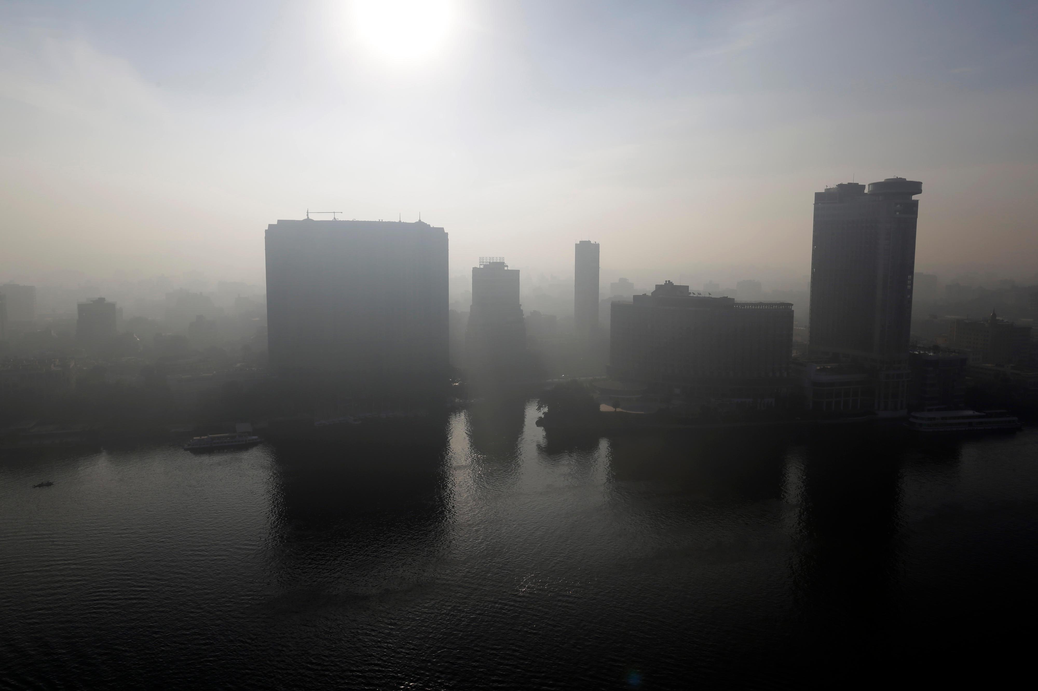 Smog in Kairo
