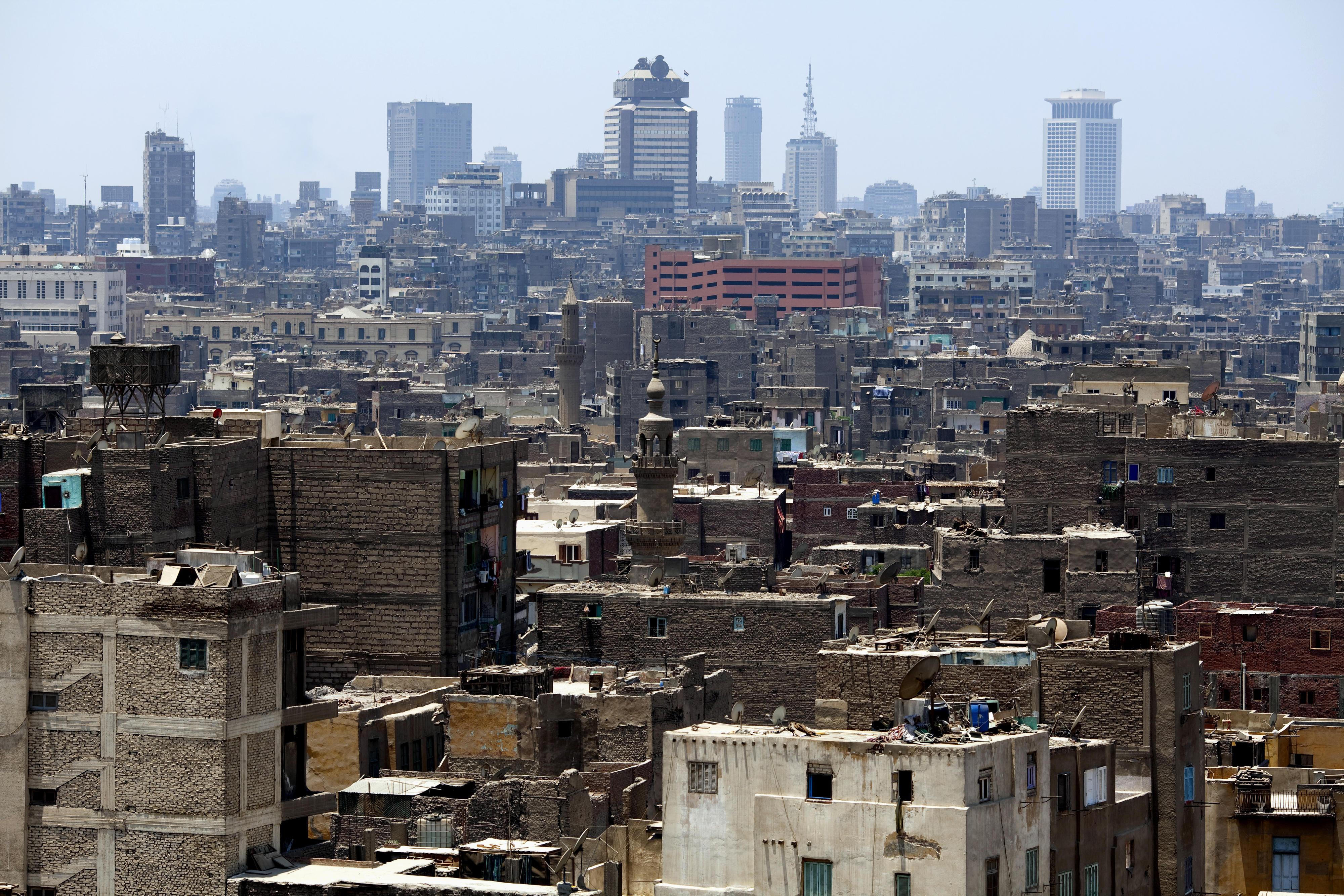Stadtansicht von Kairo