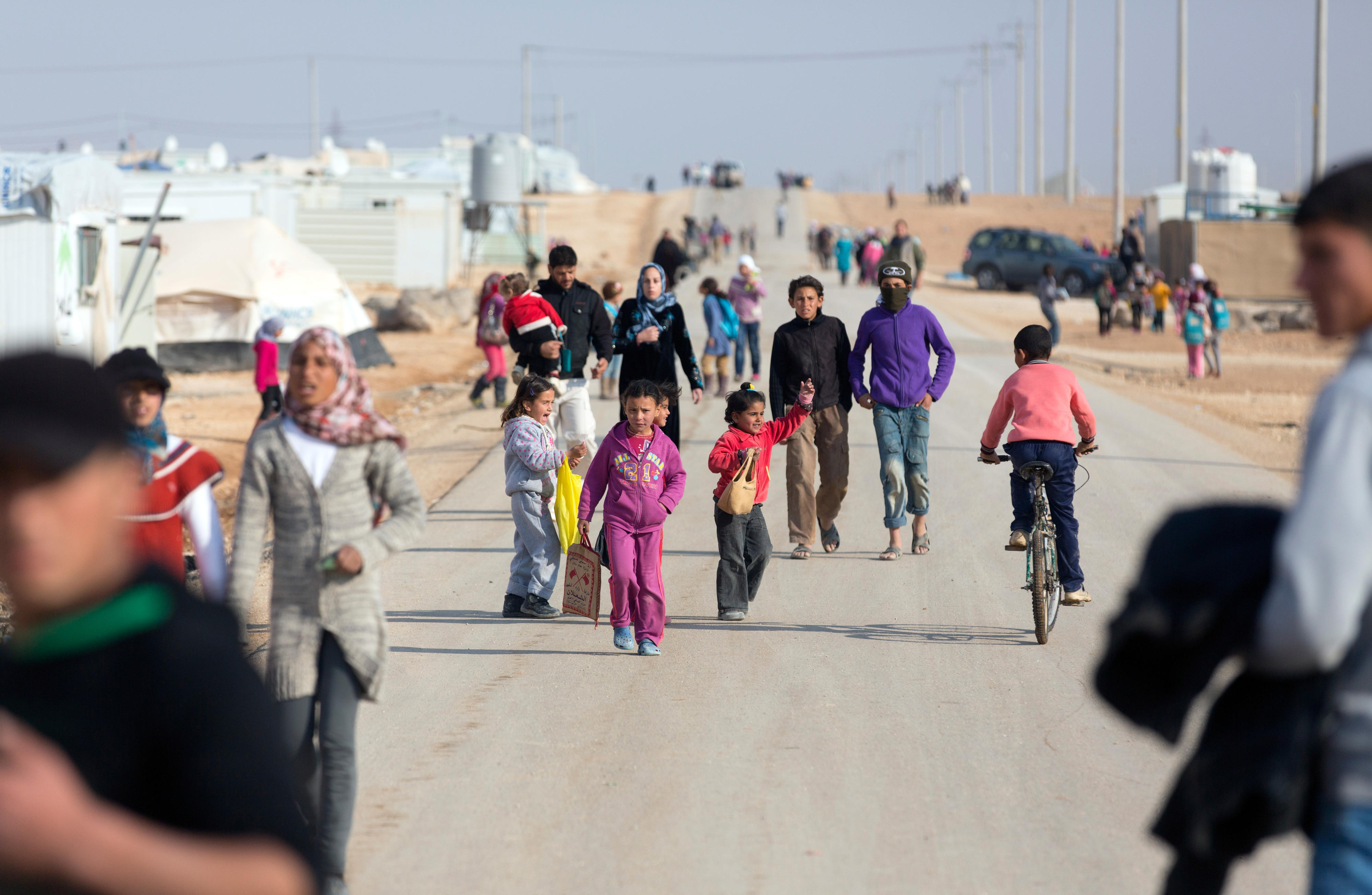 Flüchtlingslager Zaatari in Jordanien