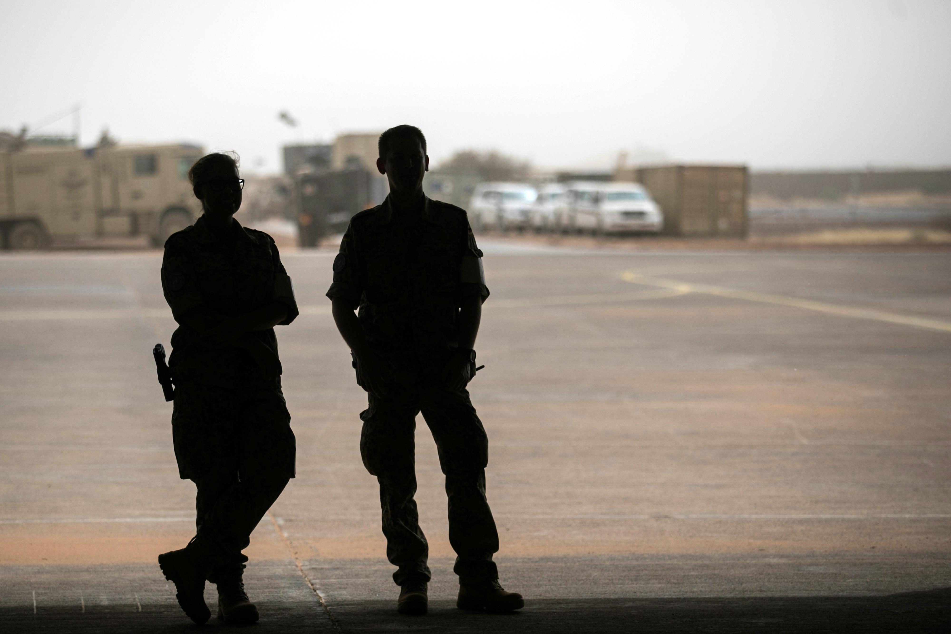 Soldaten der UN-Stabilisierungsmission MINUSMA in Mali