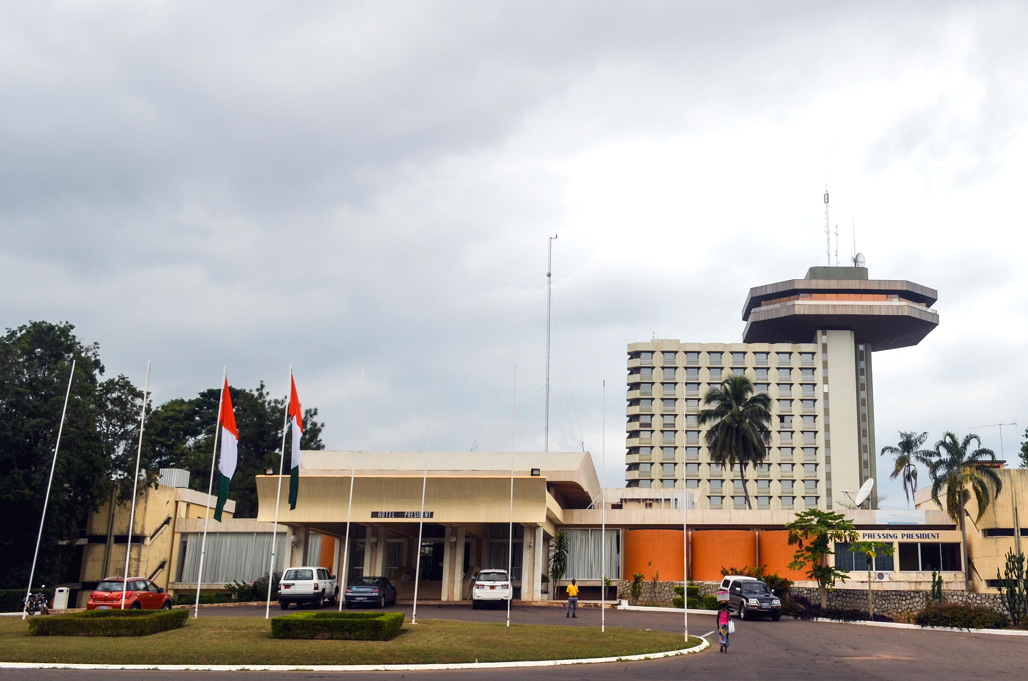 Hotel Président, in der ivorischen Hauptstadt Yamoussoukro