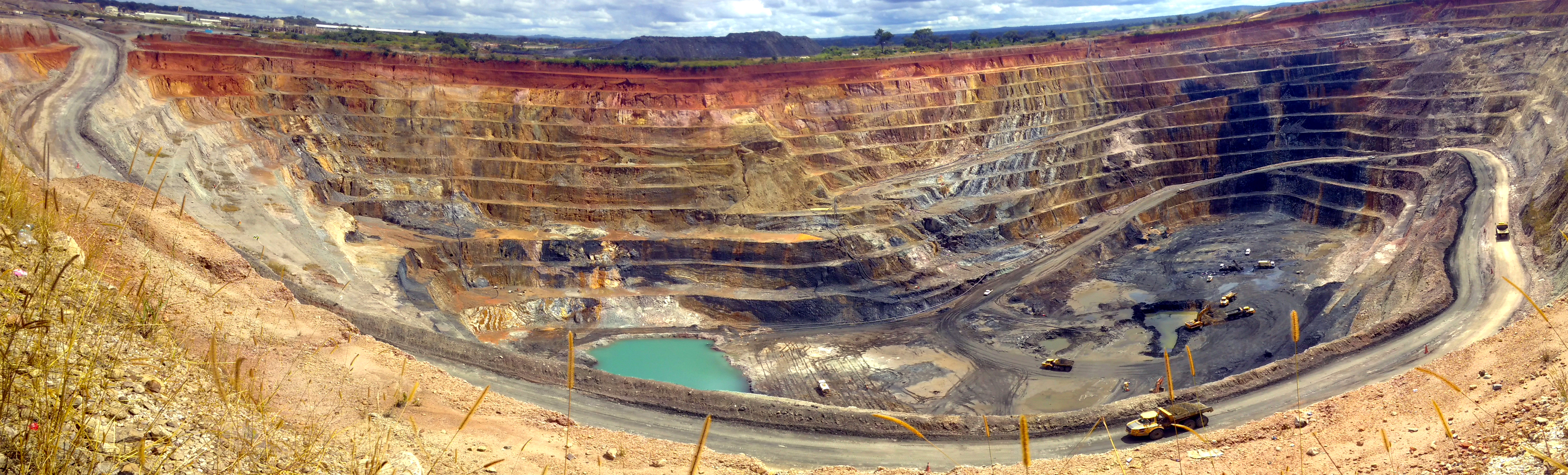 Kupfermine in DR Kongo