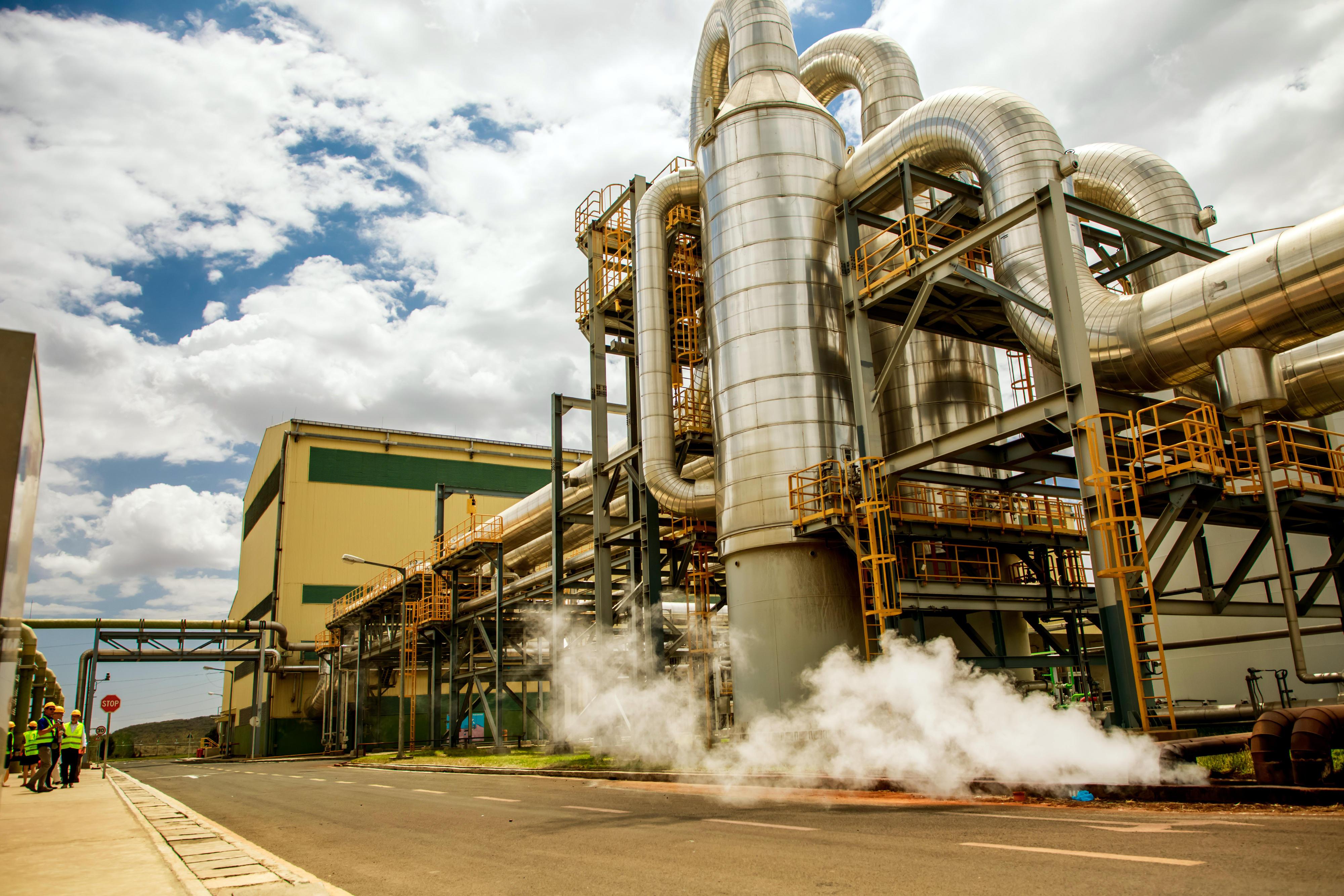Erdwärmekraftwerk Olkaria, Kenia