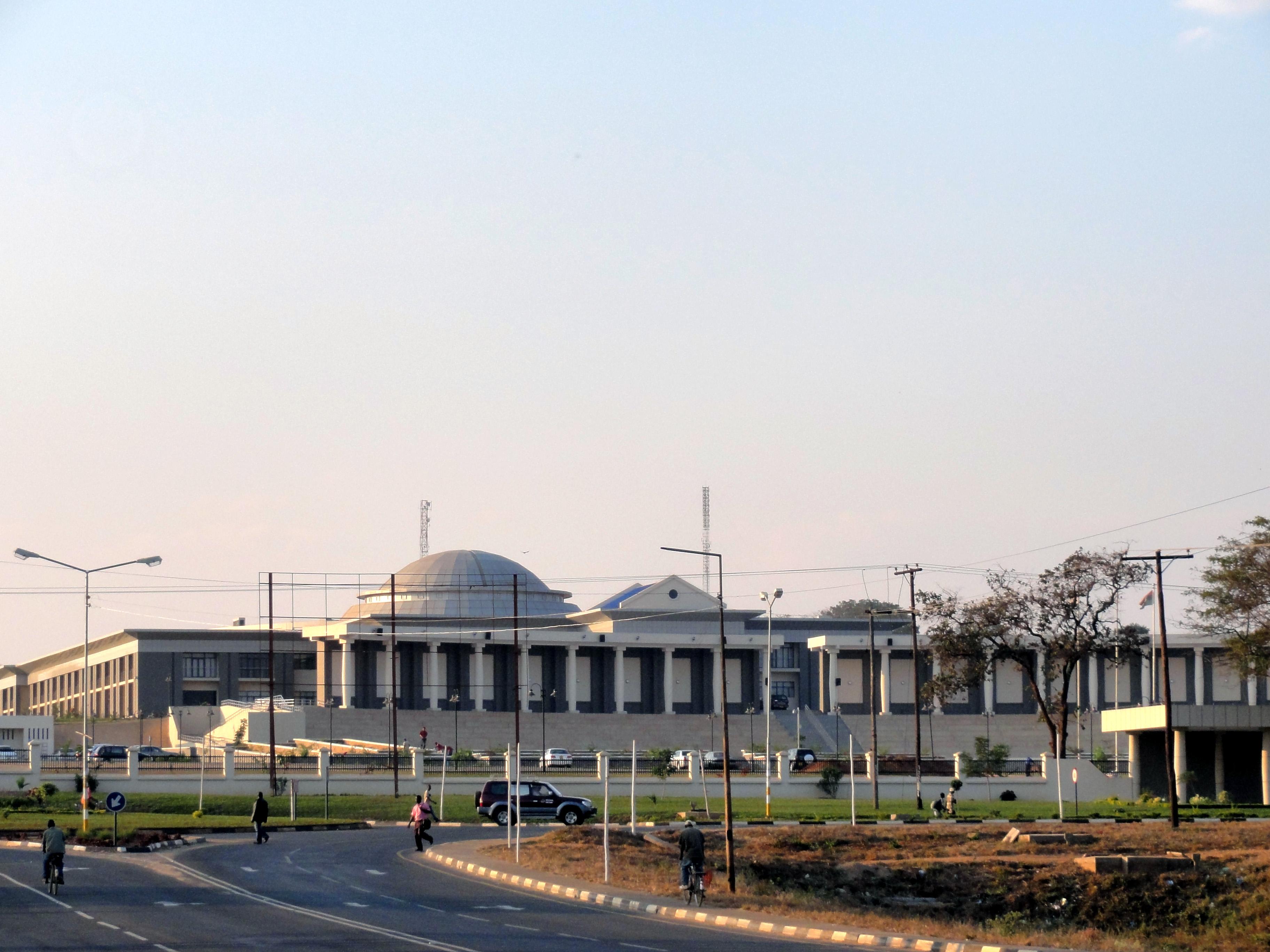 Parlamentsgebäude in Lilongwe, Malawi