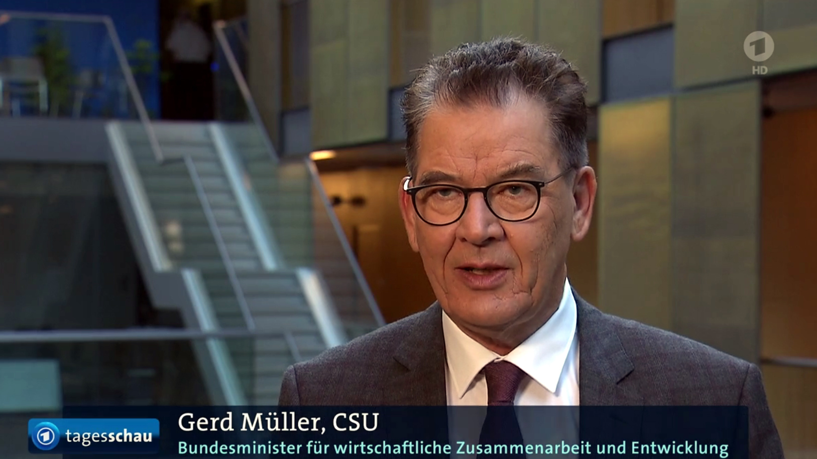 Standbild aus einem Beitrag der ARD-Tagesschau vom 13.10.2020