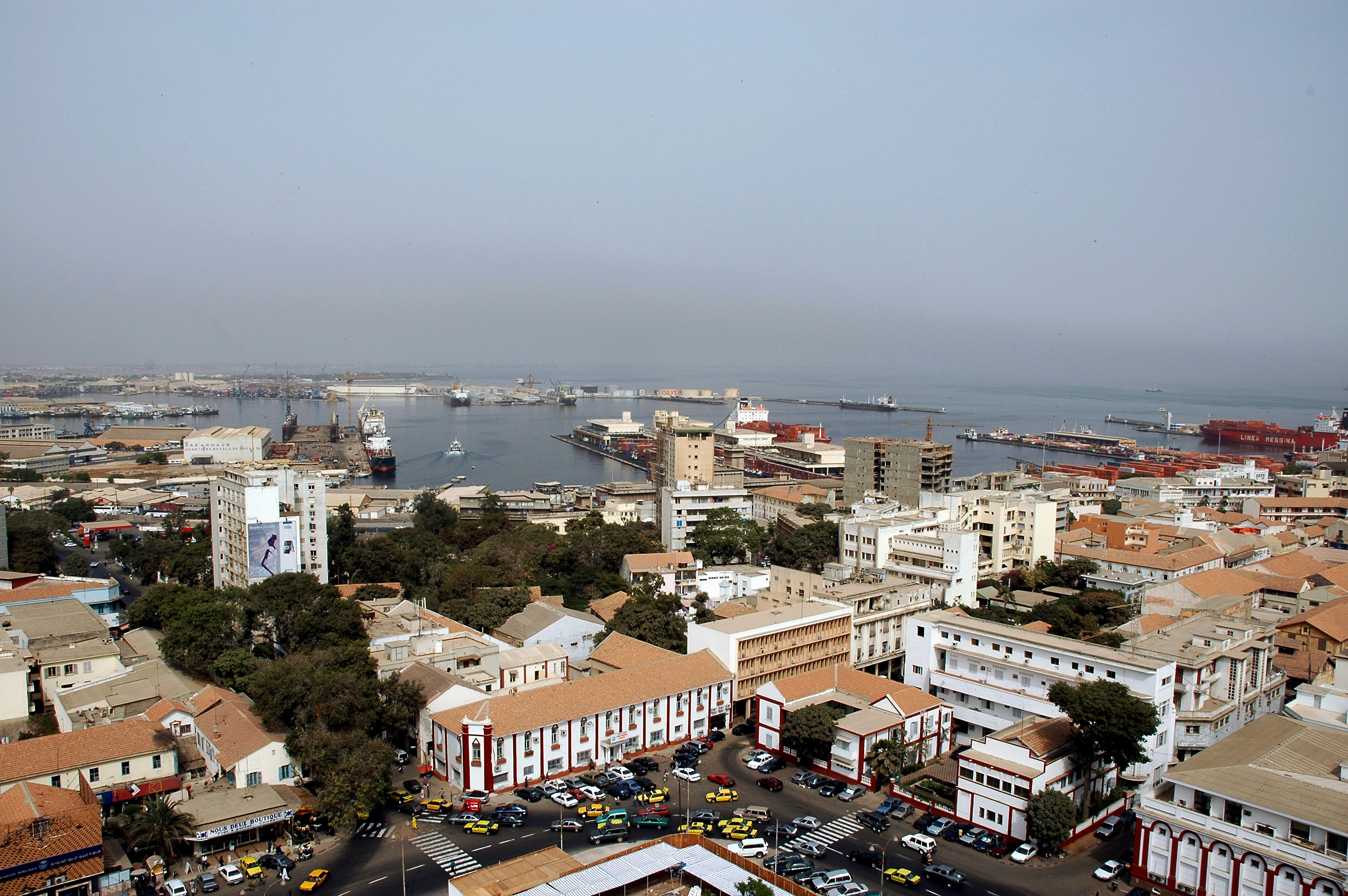 The port of Dakar, Senegal