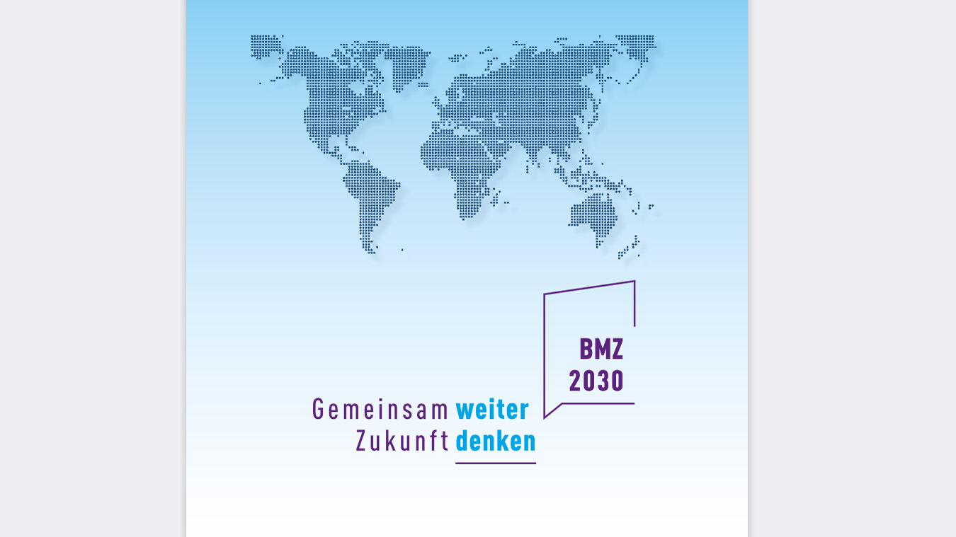 "Cover Reformkonzept ""BMZ 2030"""