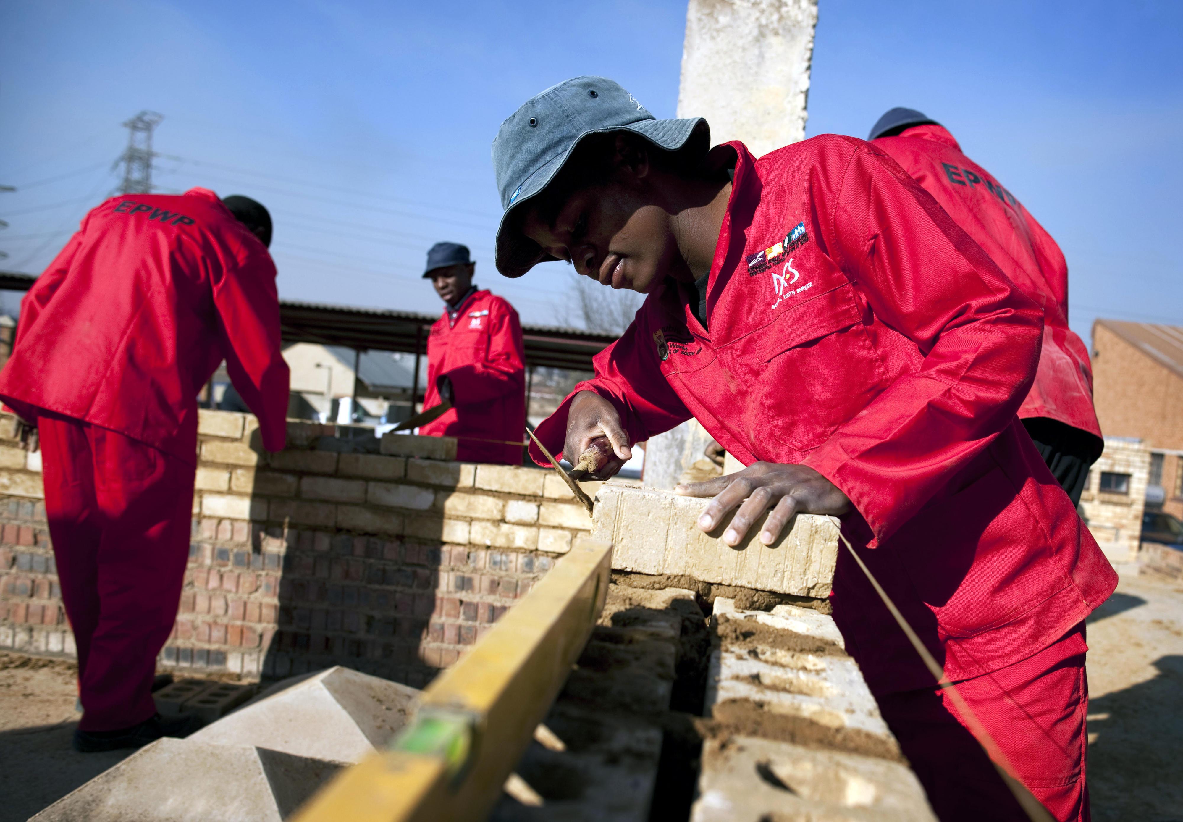 Ausbildungszentrum in Soweto, Südafrika
