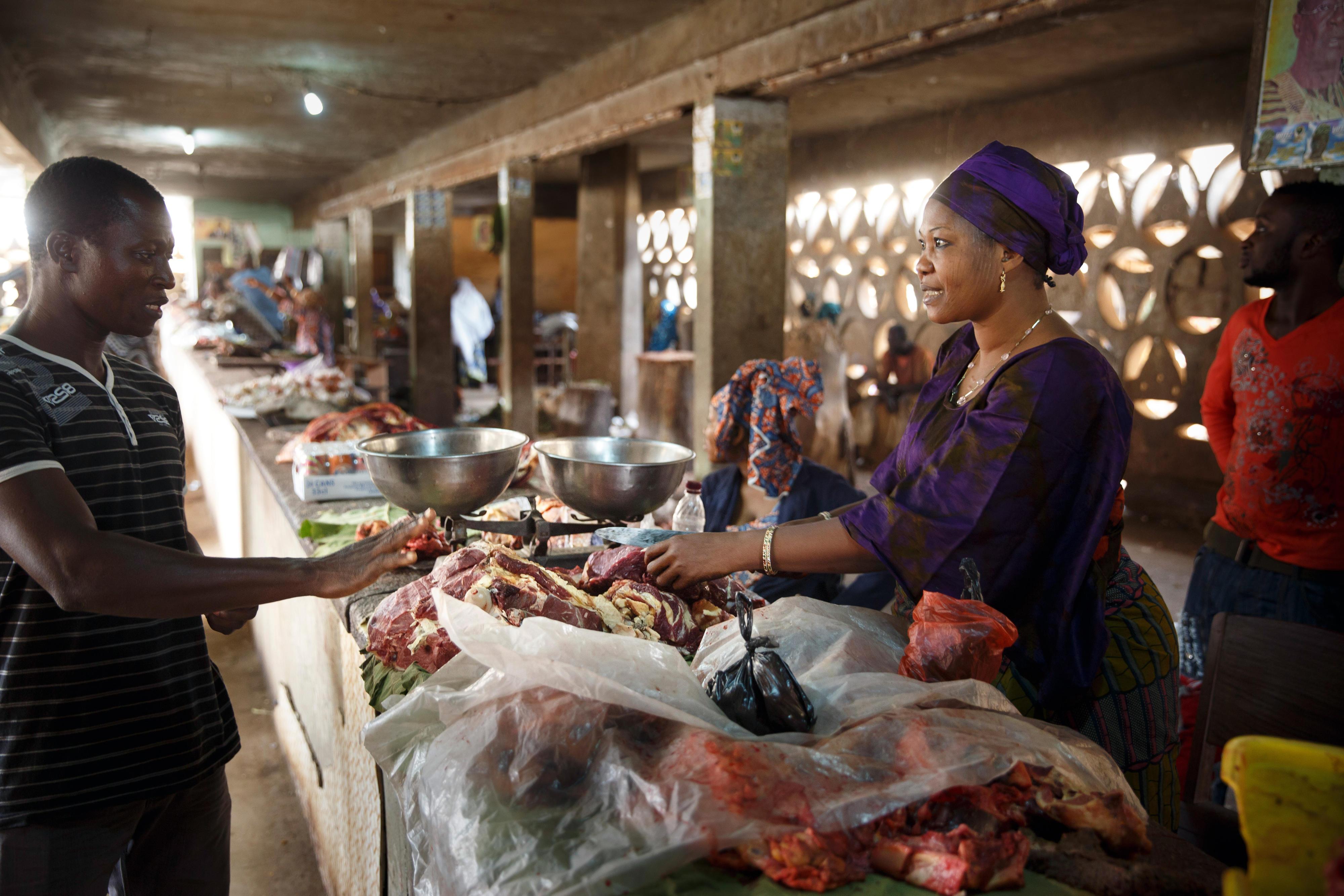 Markt in Togo