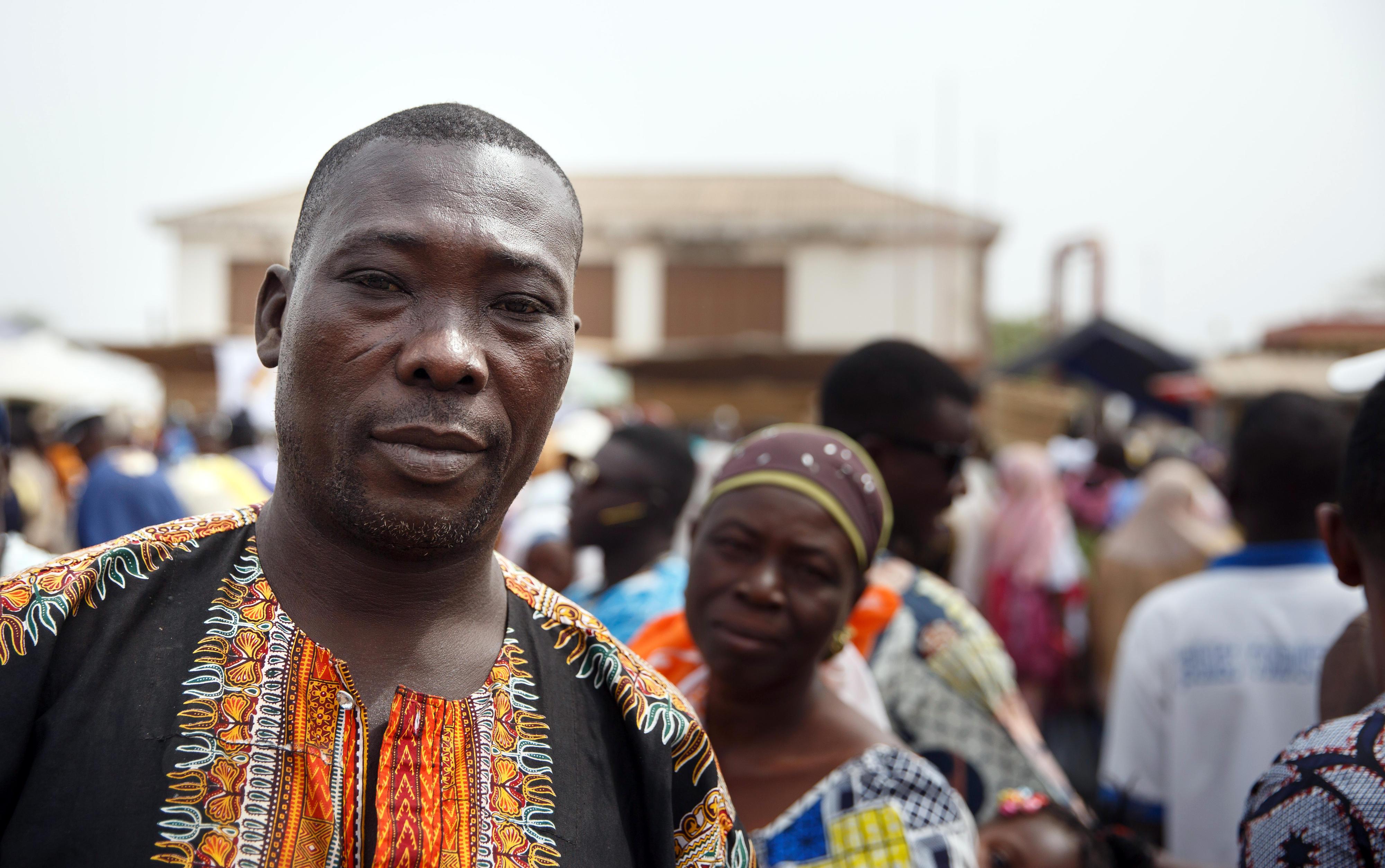Menschen in Sokodé, Togo