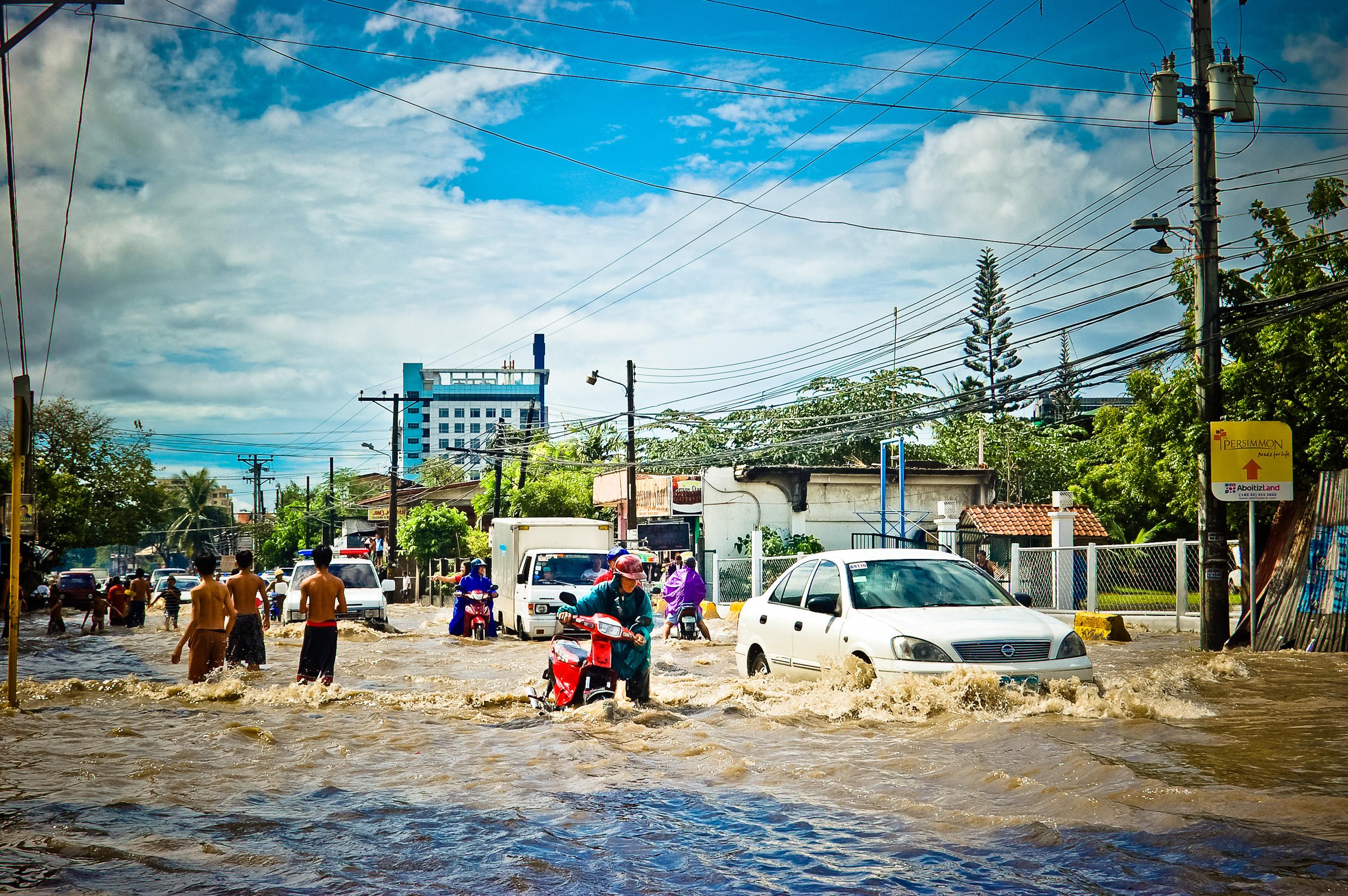 Überschwemmung auf den Philippinen