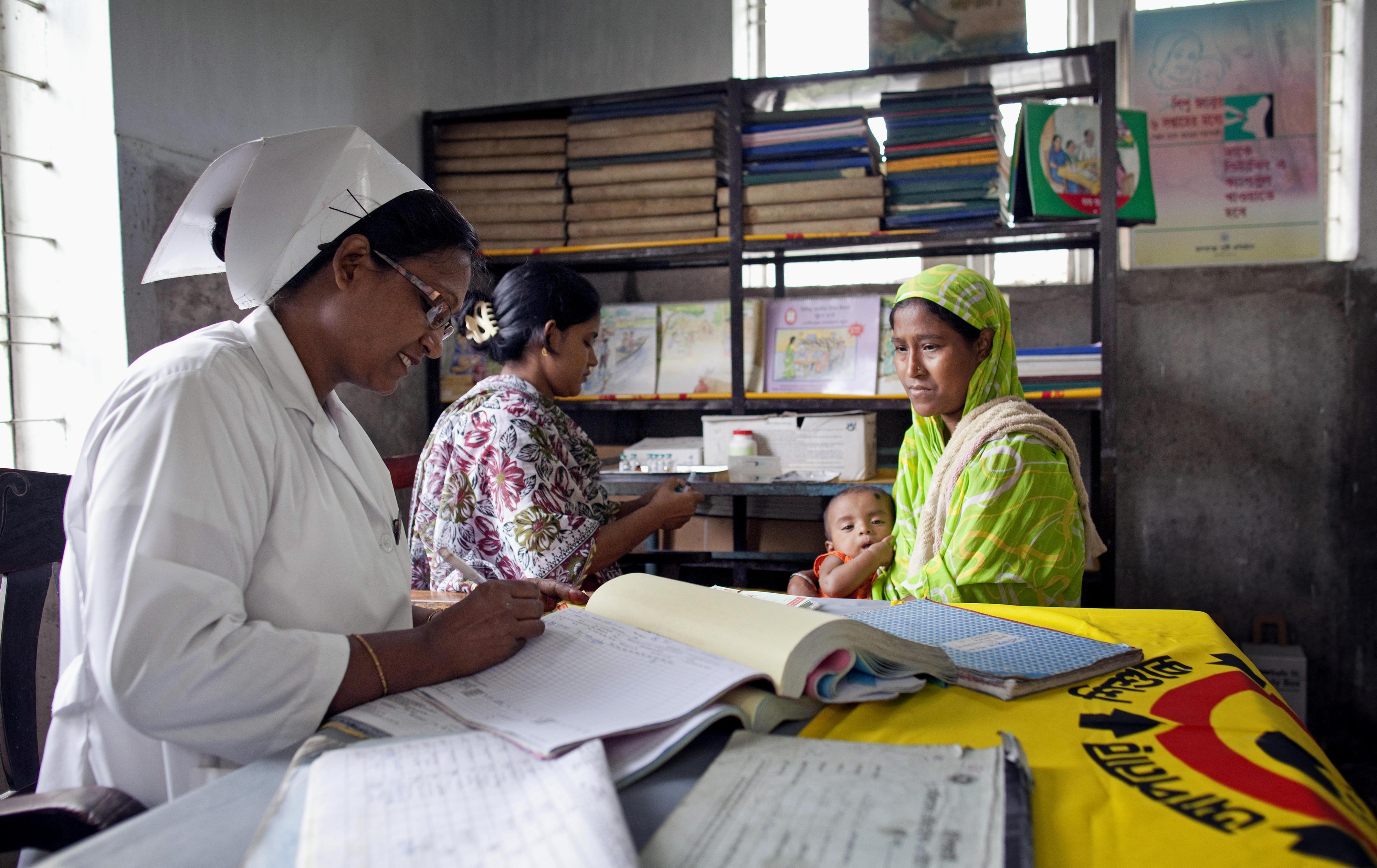 Krankenhaus in Bangladesch
