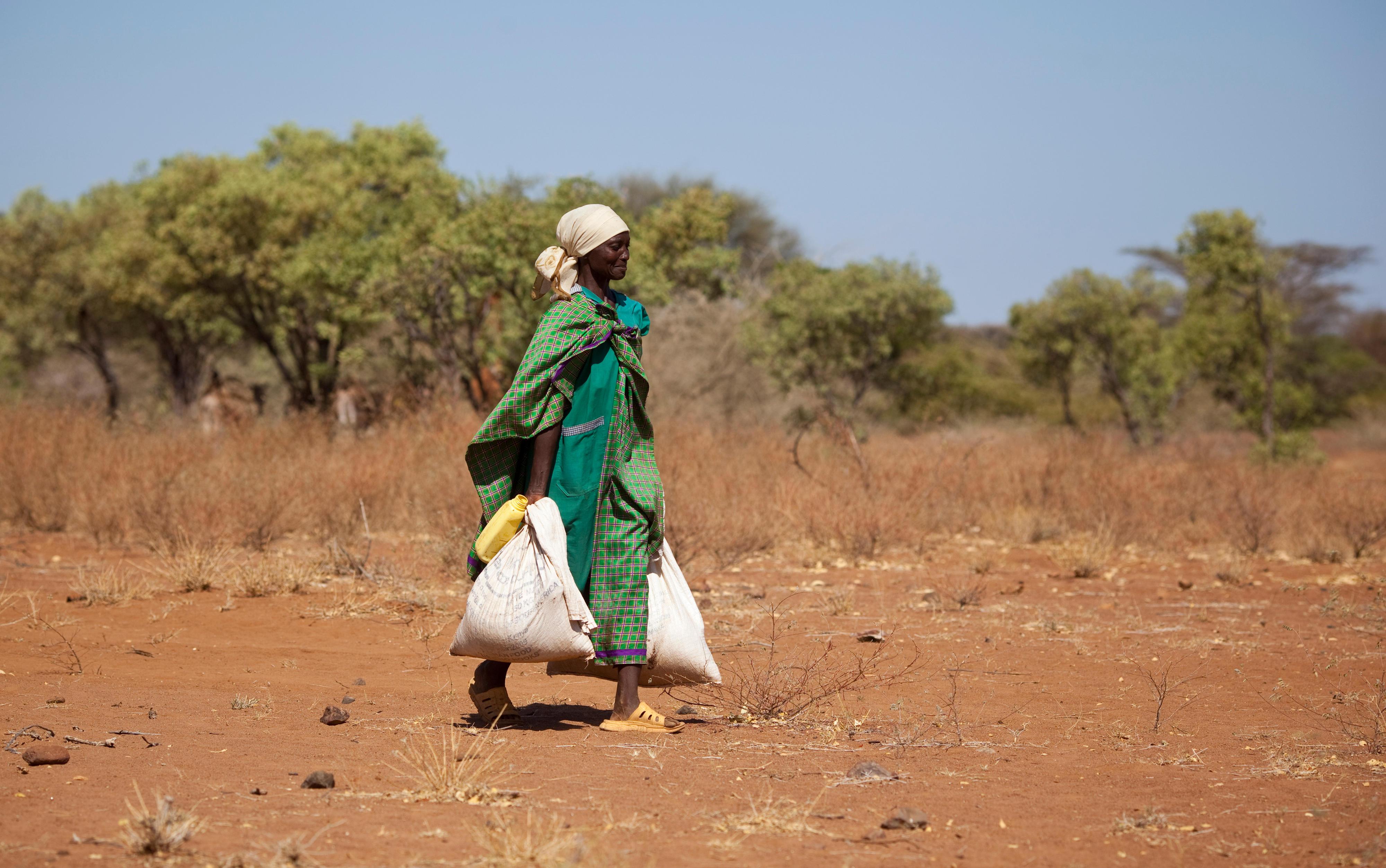 Nomadin in Kenia