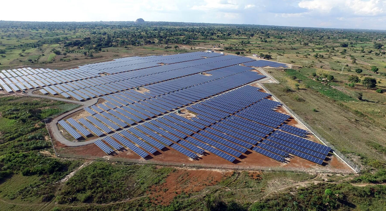 Soroti solar power plant in Uganda