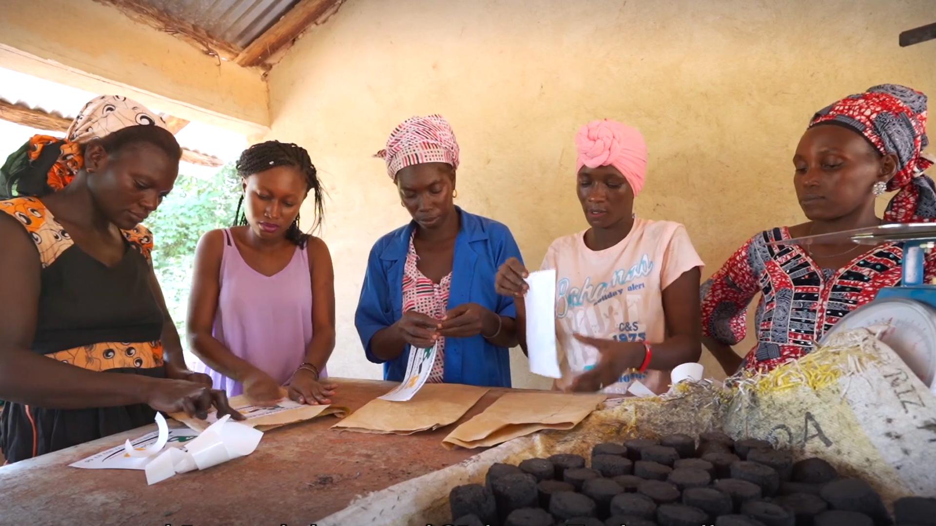 """Standbild aus dem Video """"Senegal: Durch Bildung Energie erzeugen"""""""