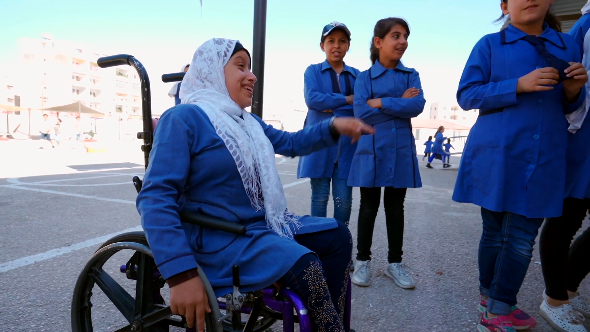 """Standbild aus dem Video """"Jordanien: Durch Bildung Zuflucht finden"""""""