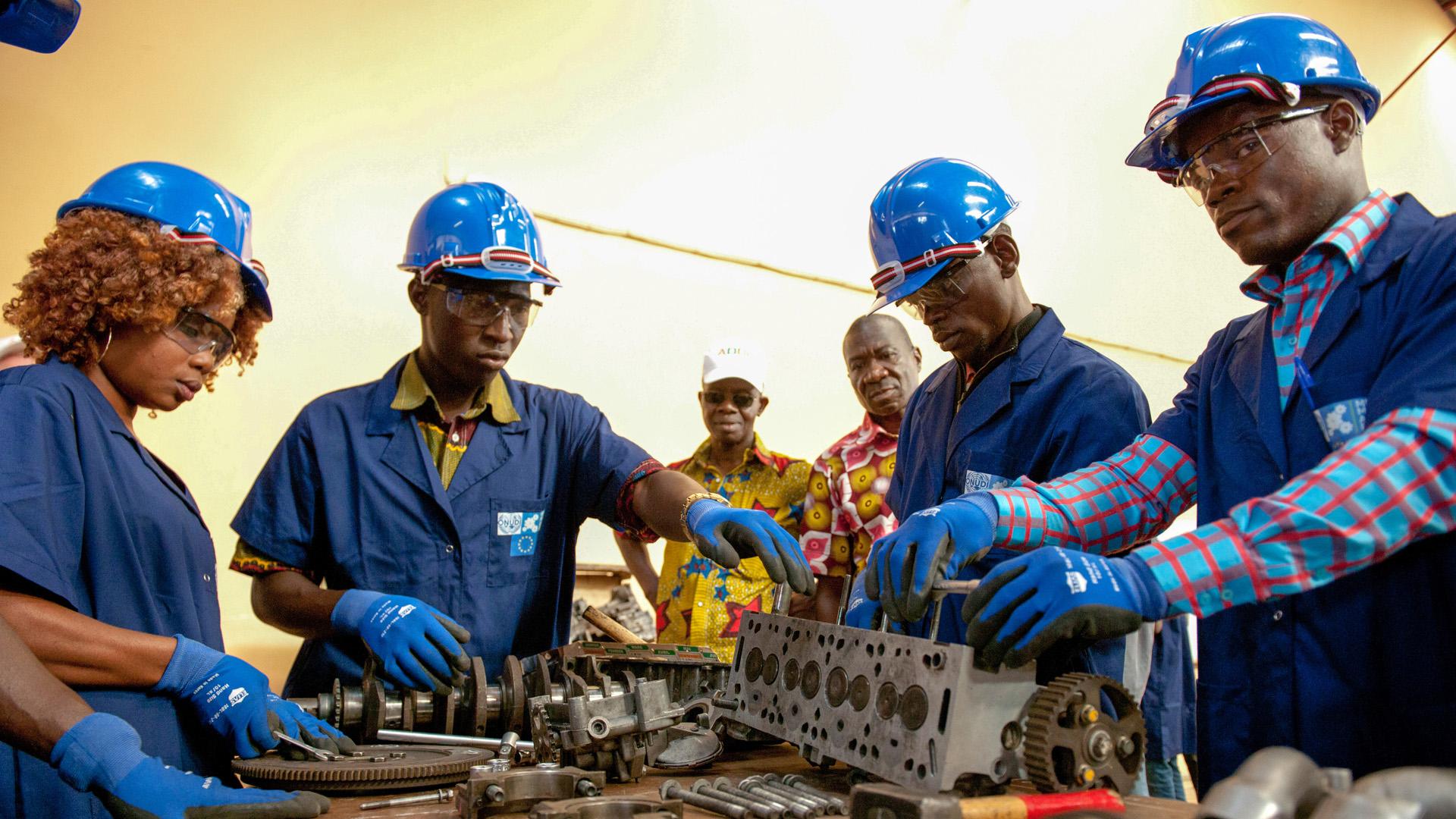 Handwerker in Côte d'Ivoire