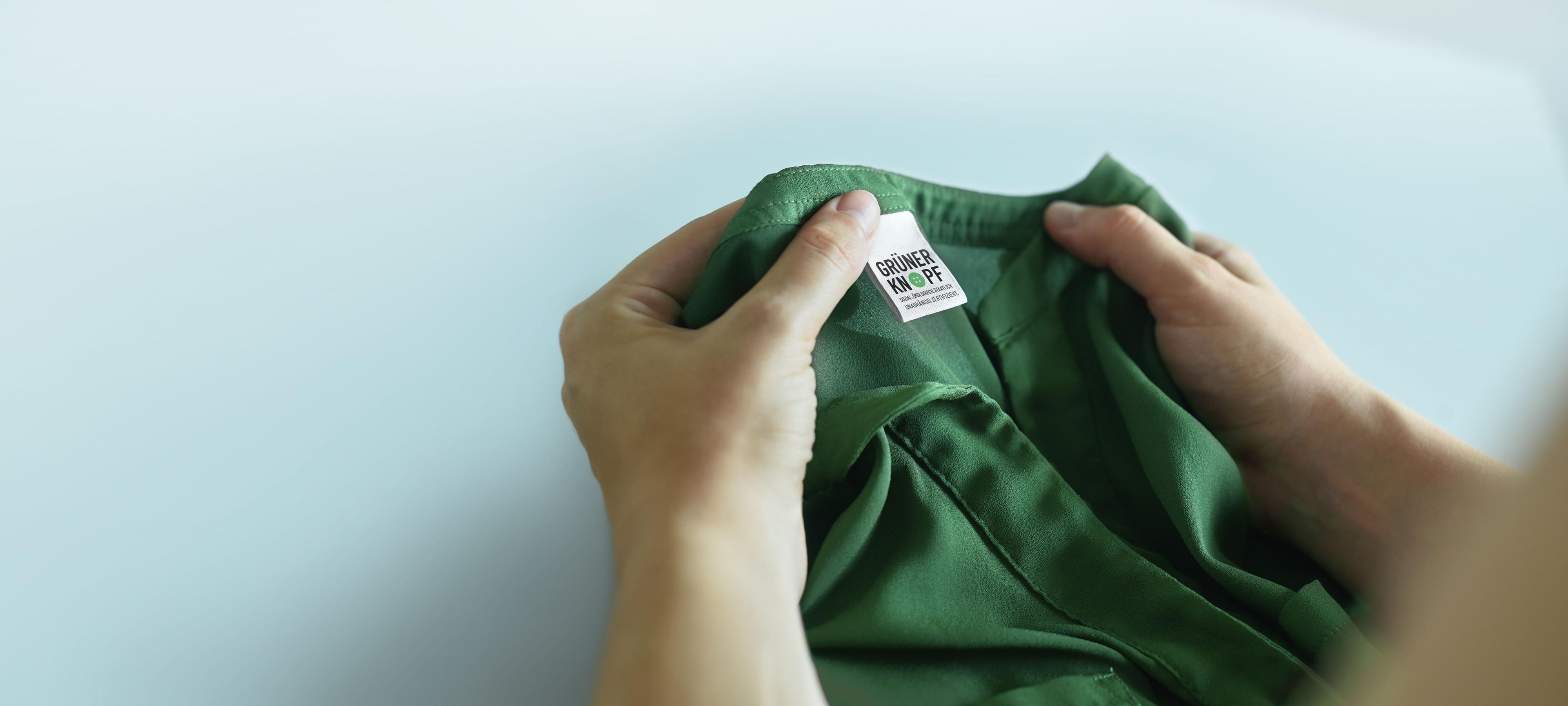Der Grüne Knopf – das Siegel für sozial und ökologisch produzierte Textilien